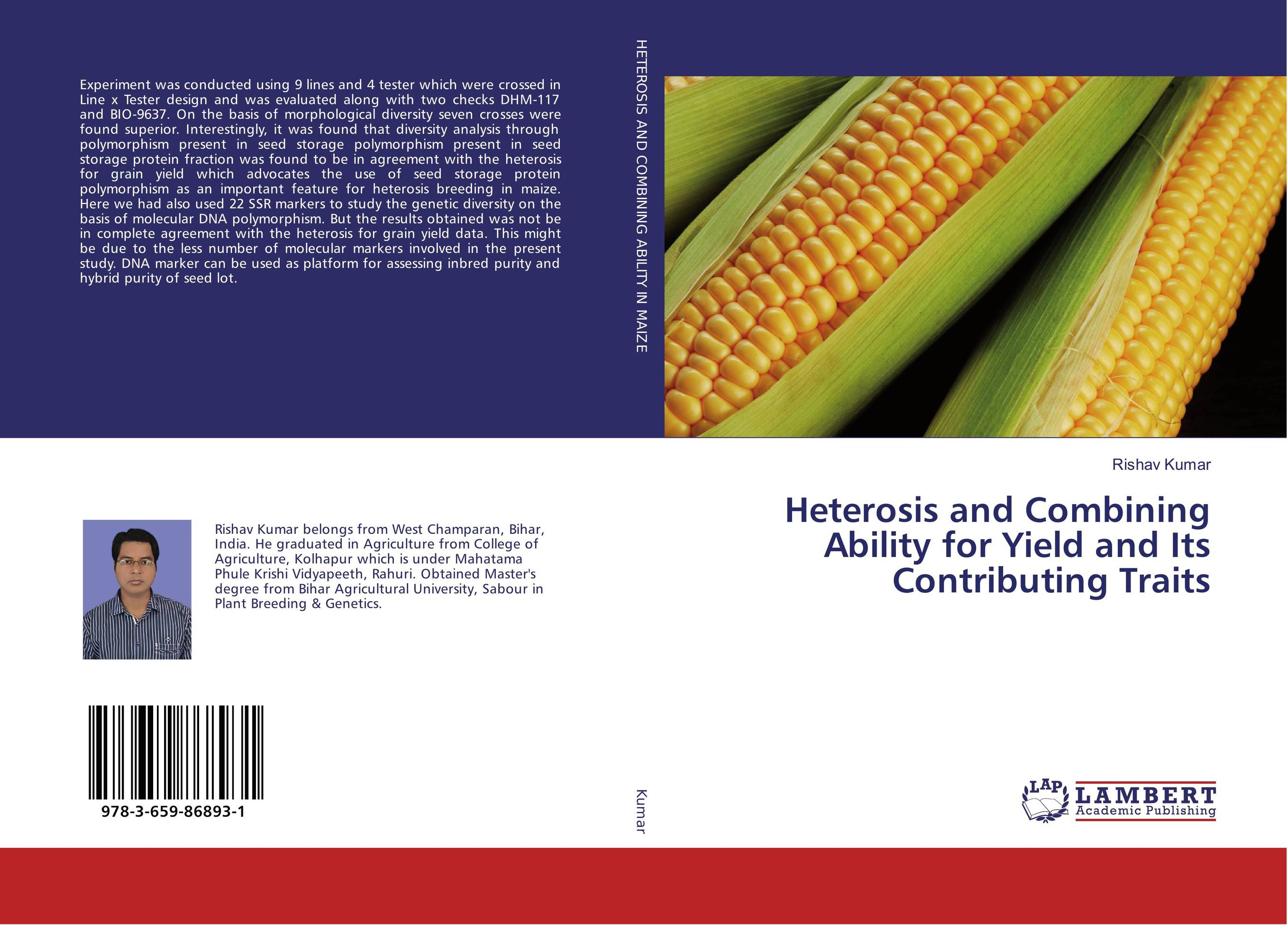 Heterosis and Combining Ability for Yield and Its Contributing Traits found in brooklyn