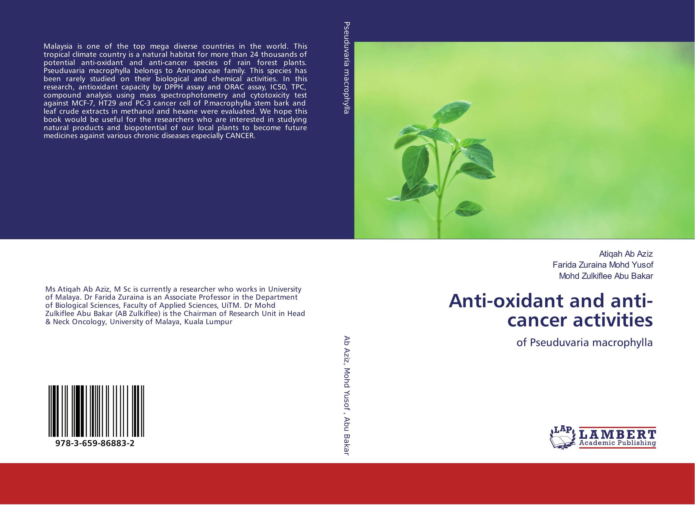 Anti-oxidant and anti-cancer activities theivendren panneer selvam s n mamledesai and fadte pooja rajaram alias fotto importance of quinazoline against cancer