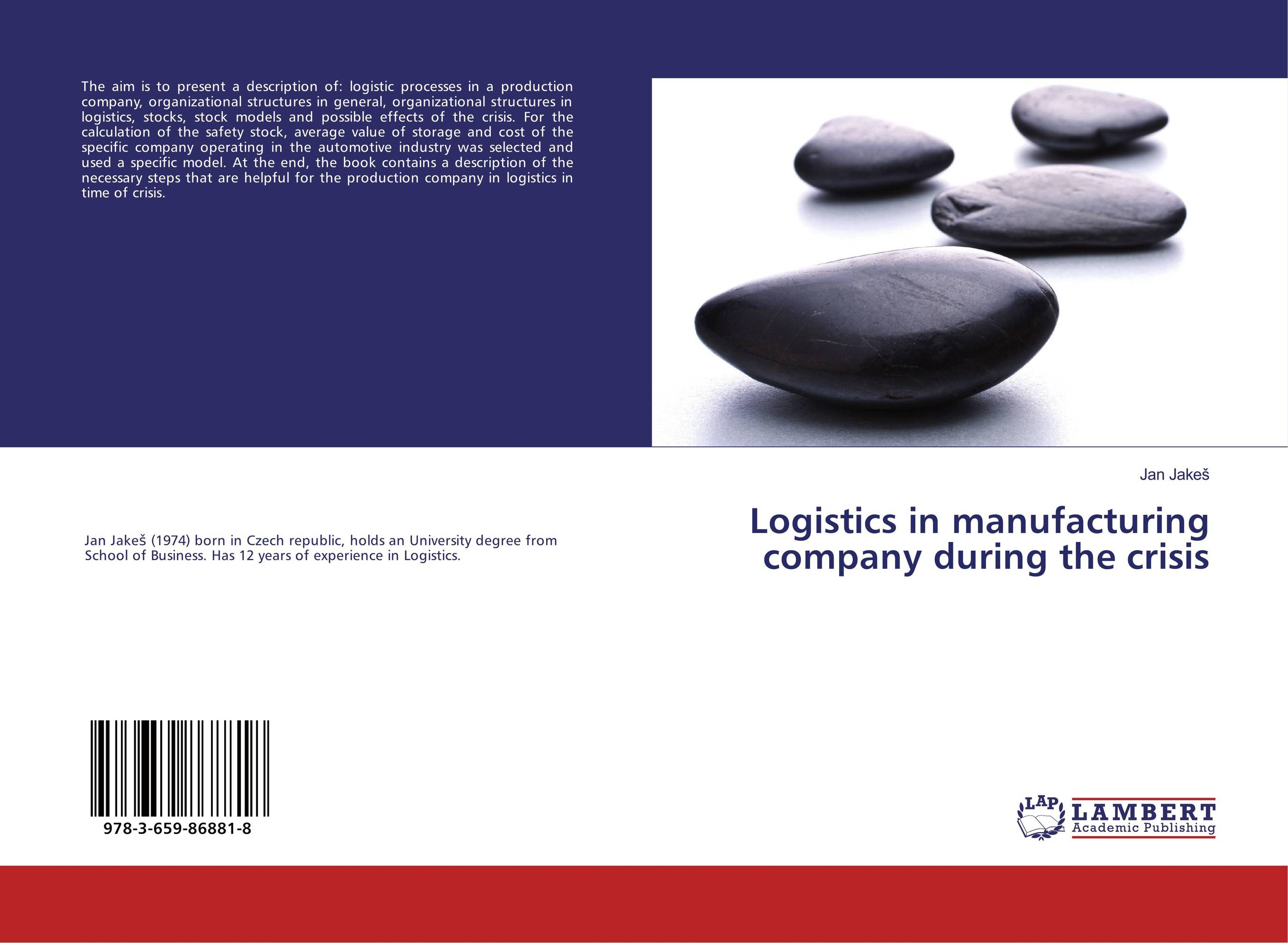 Logistics in manufacturing company during the crisis