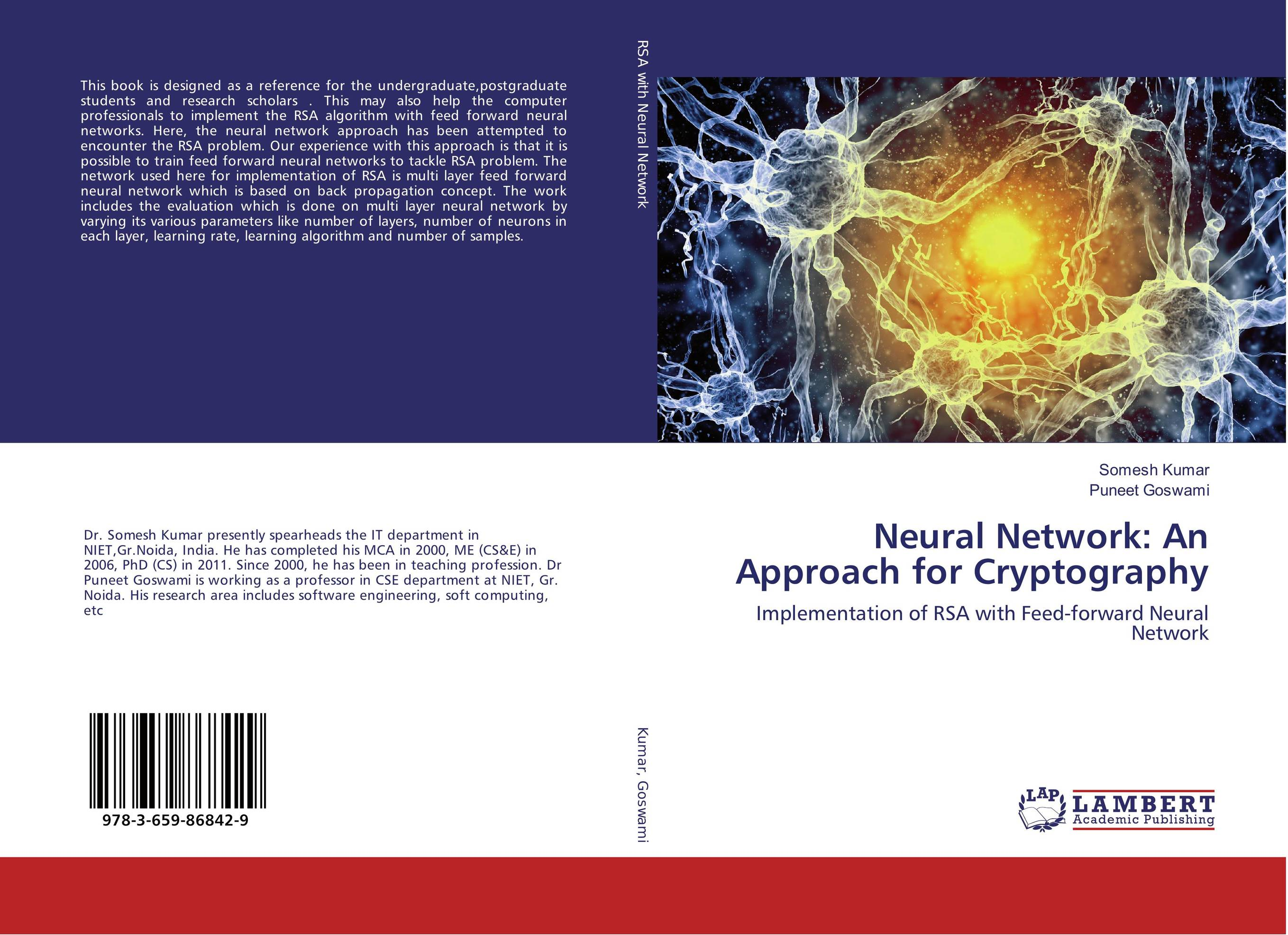 Neural Network: An Approach for Cryptography artittaya phongphom and soparth pongquan farmer s network approach
