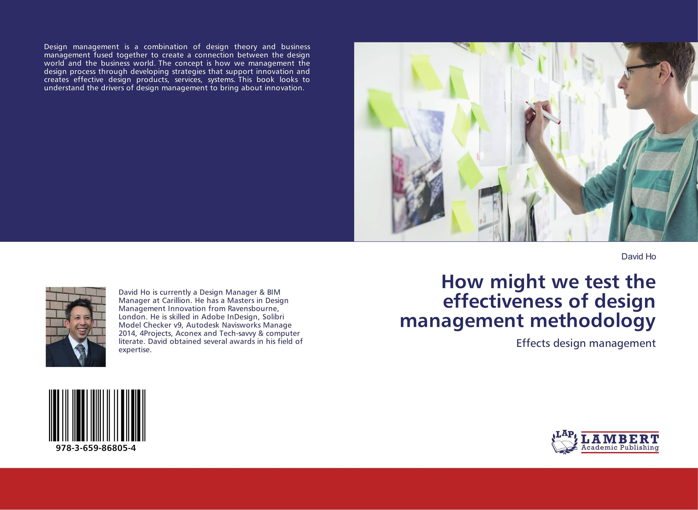 How might we test the effectiveness of design management methodology how might we test the effectiveness of design management methodology