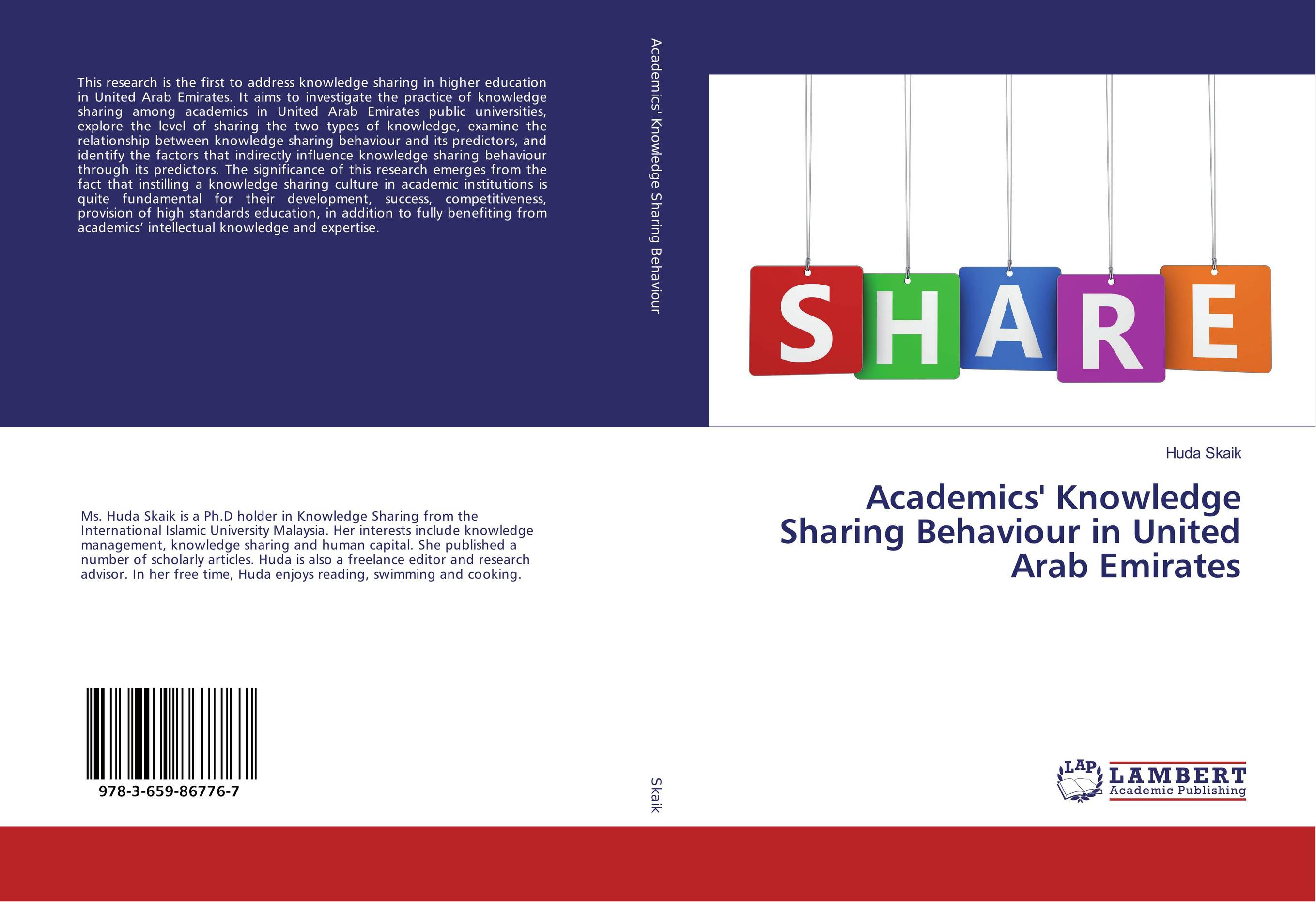 Academics' Knowledge Sharing Behaviour in United Arab Emirates sharing is caring