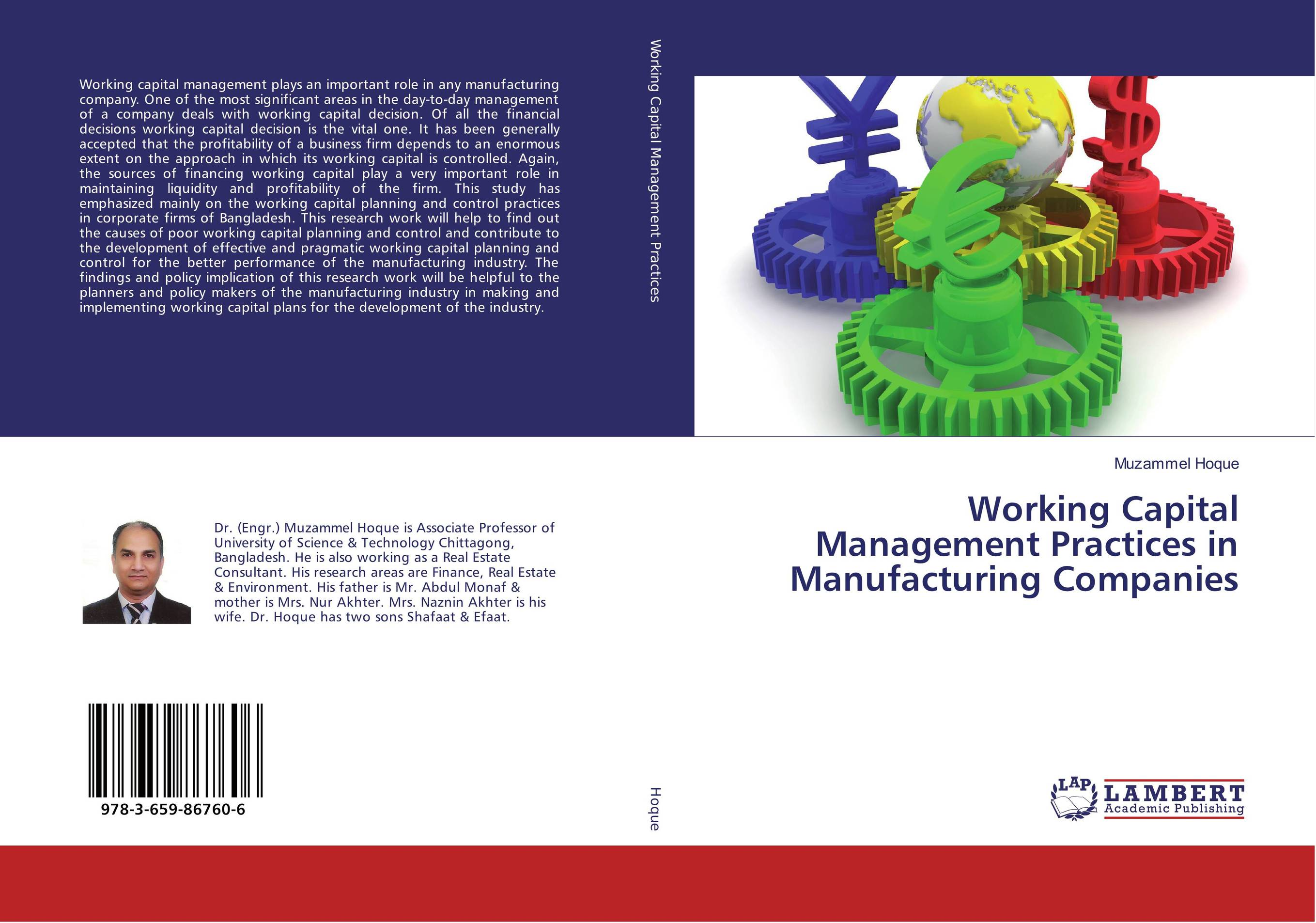 Working Capital Management Practices in Manufacturing Companies evaluation of the internal control practices