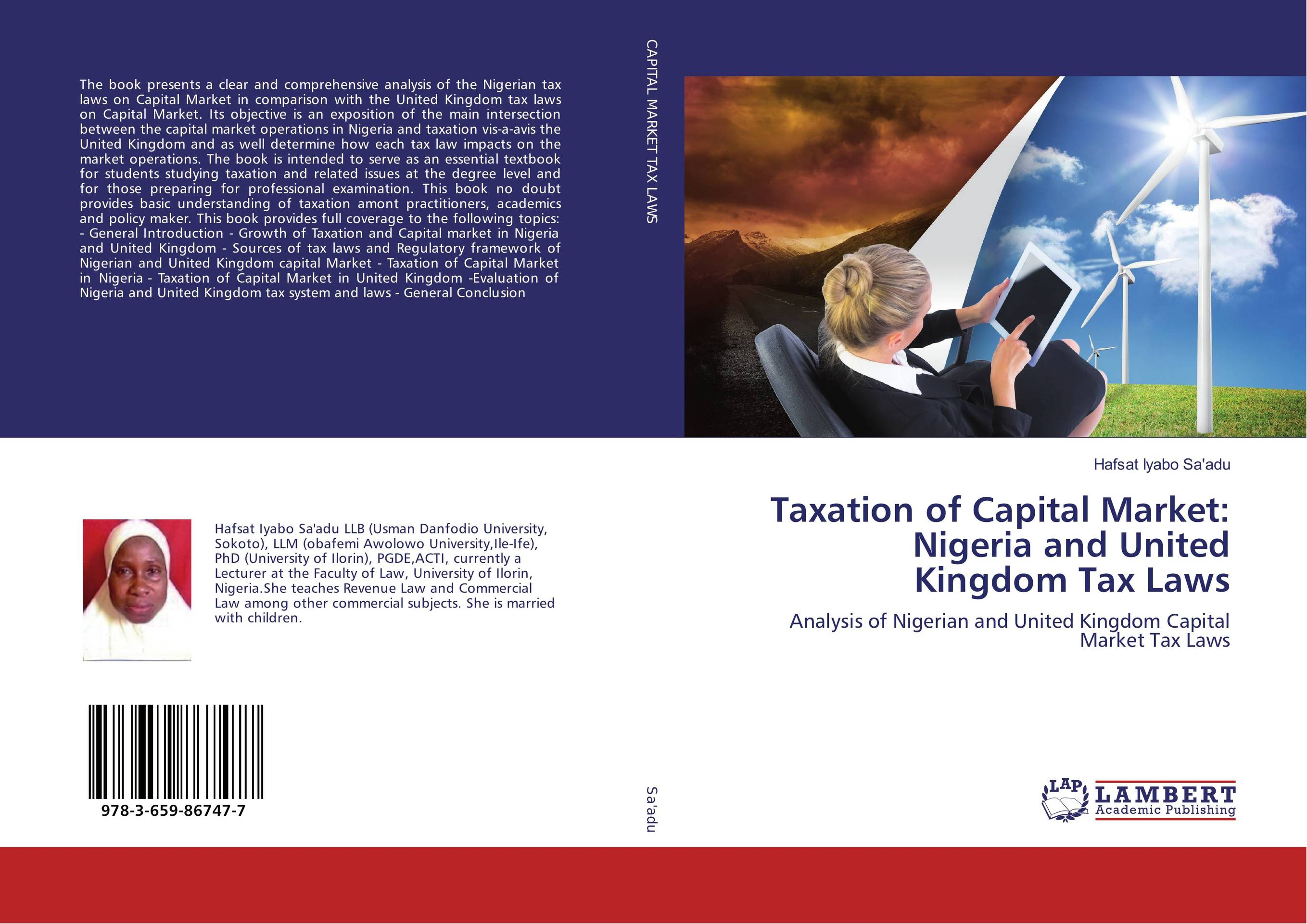 купить Taxation of Capital Market: Nigeria and United Kingdom Tax Laws недорого
