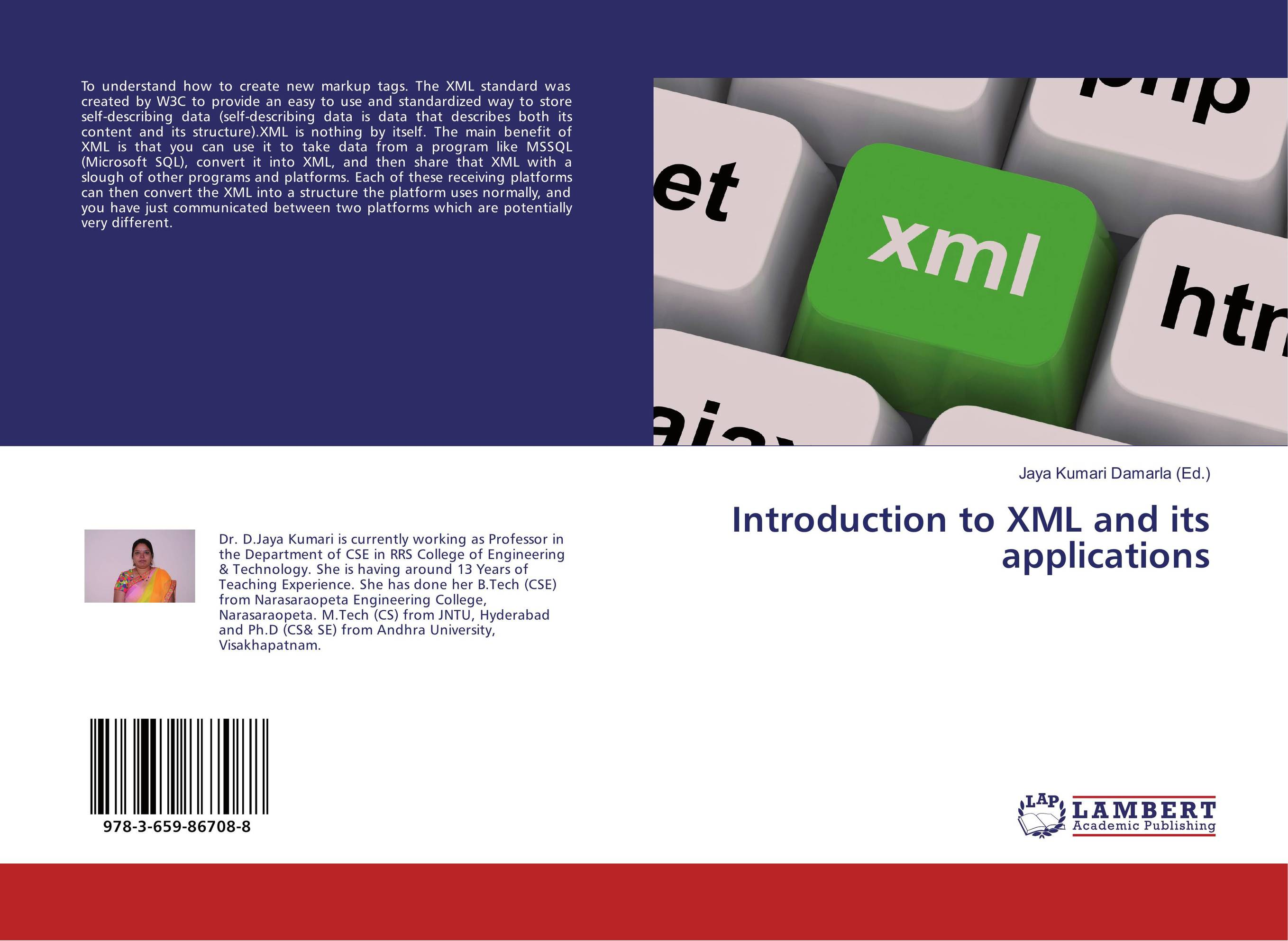 Introduction to XML and its applications sitemap 320 xml