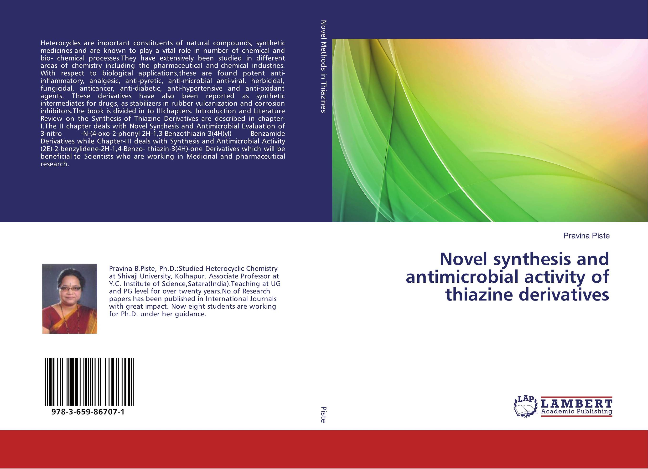 Novel synthesis and antimicrobial activity of thiazine derivatives sandip p vyas novel s triazine derivatives