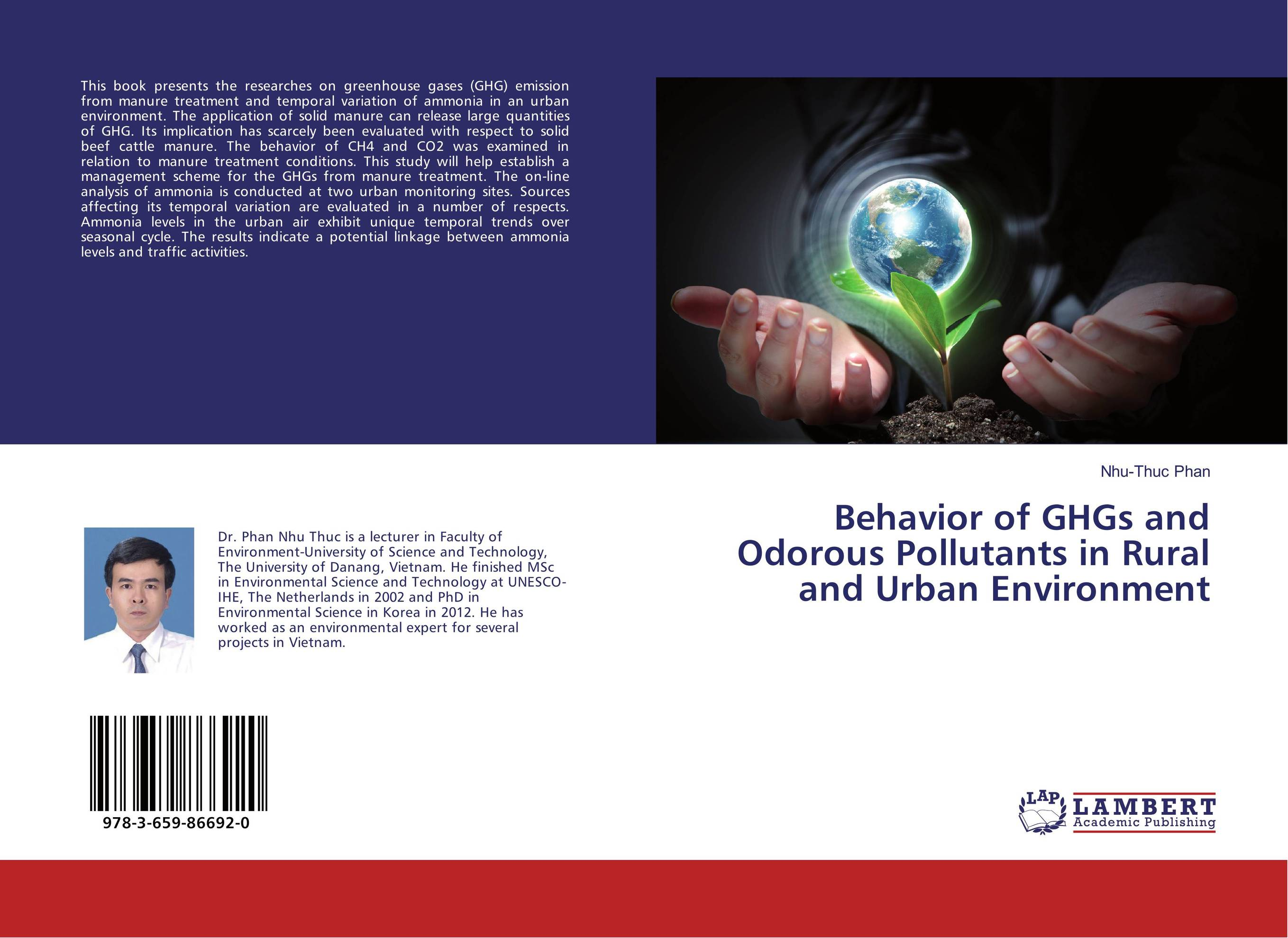 Behavior of GHGs and Odorous Pollutants in Rural and Urban Environment impacts of urban traffic management on air quality