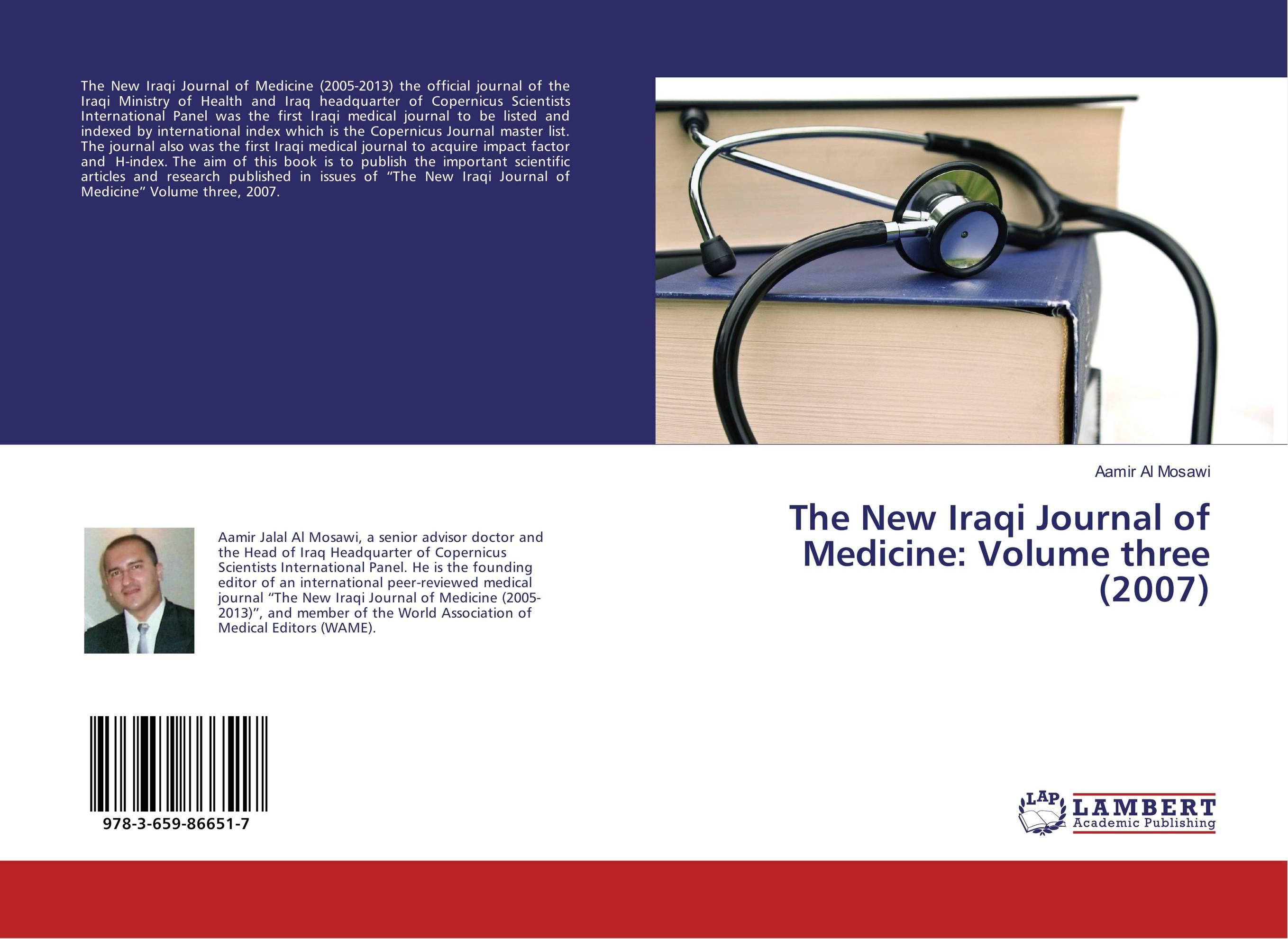 The New Iraqi Journal of Medicine: Volume three (2007) the new medicine
