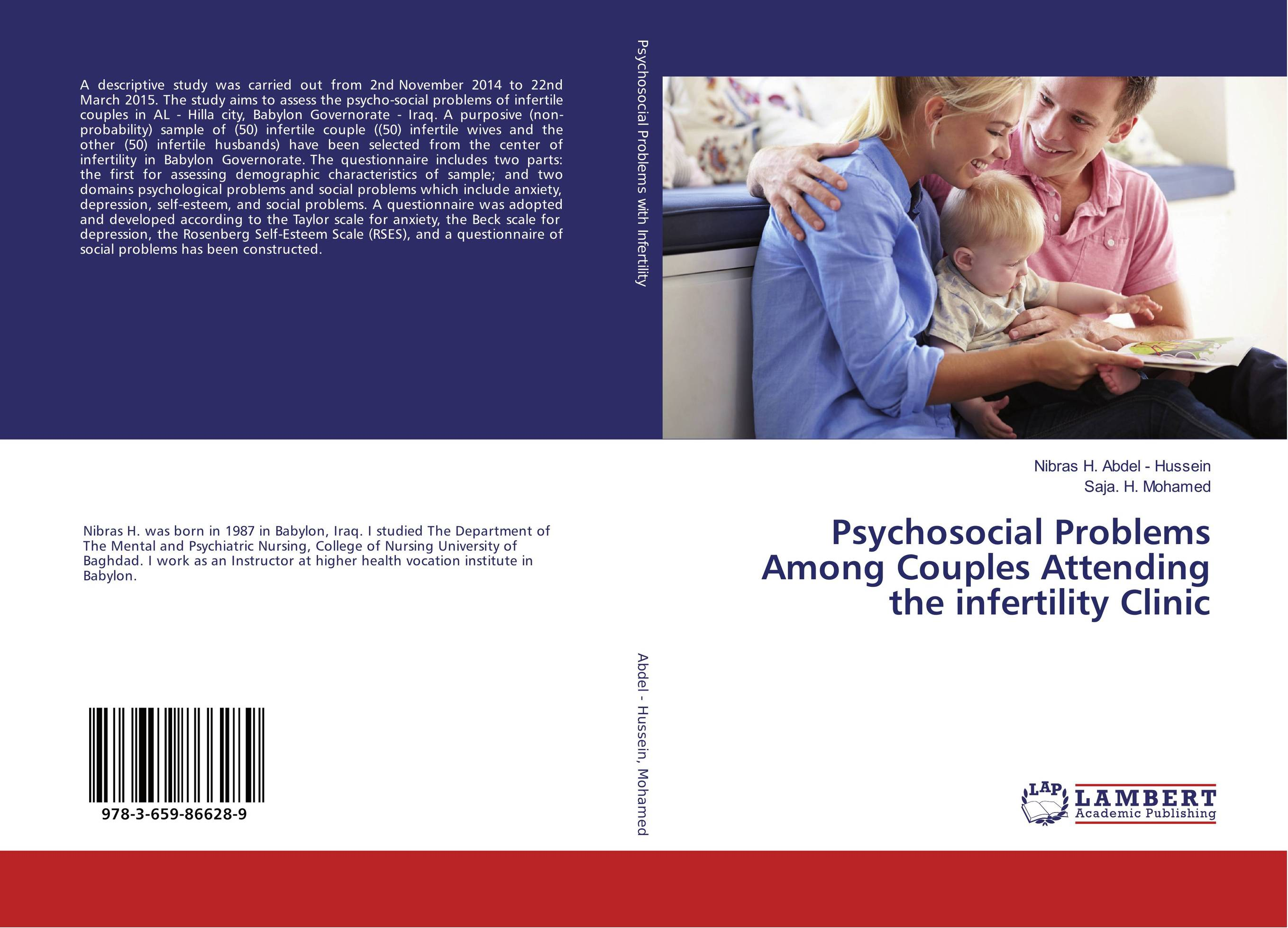 Psychosocial Problems Among Couples Attending the infertility Clinic the thirteen problems