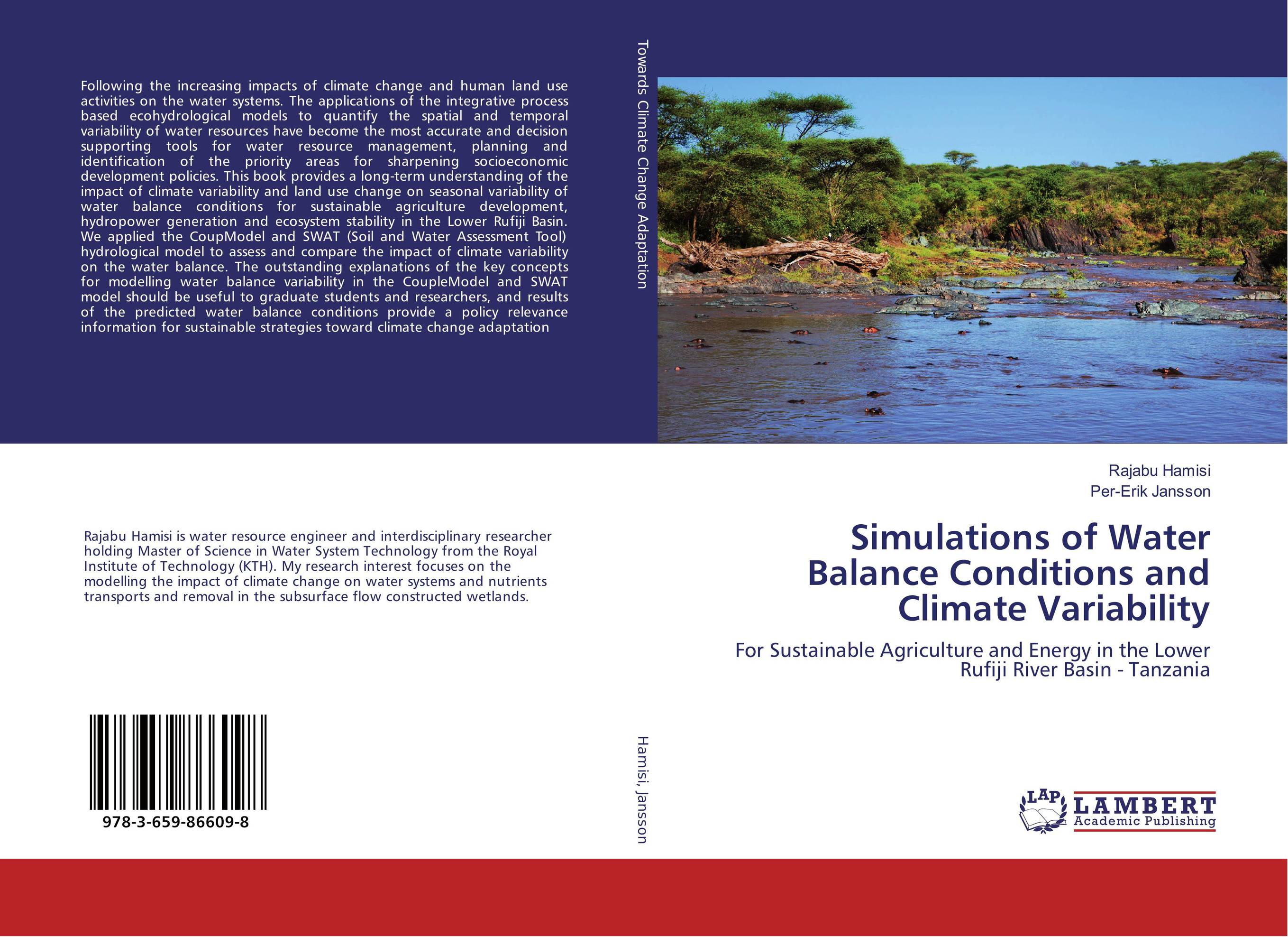 Simulations of Water Balance Conditions and Climate Variability suh jude abenwi the economic impact of climate variability