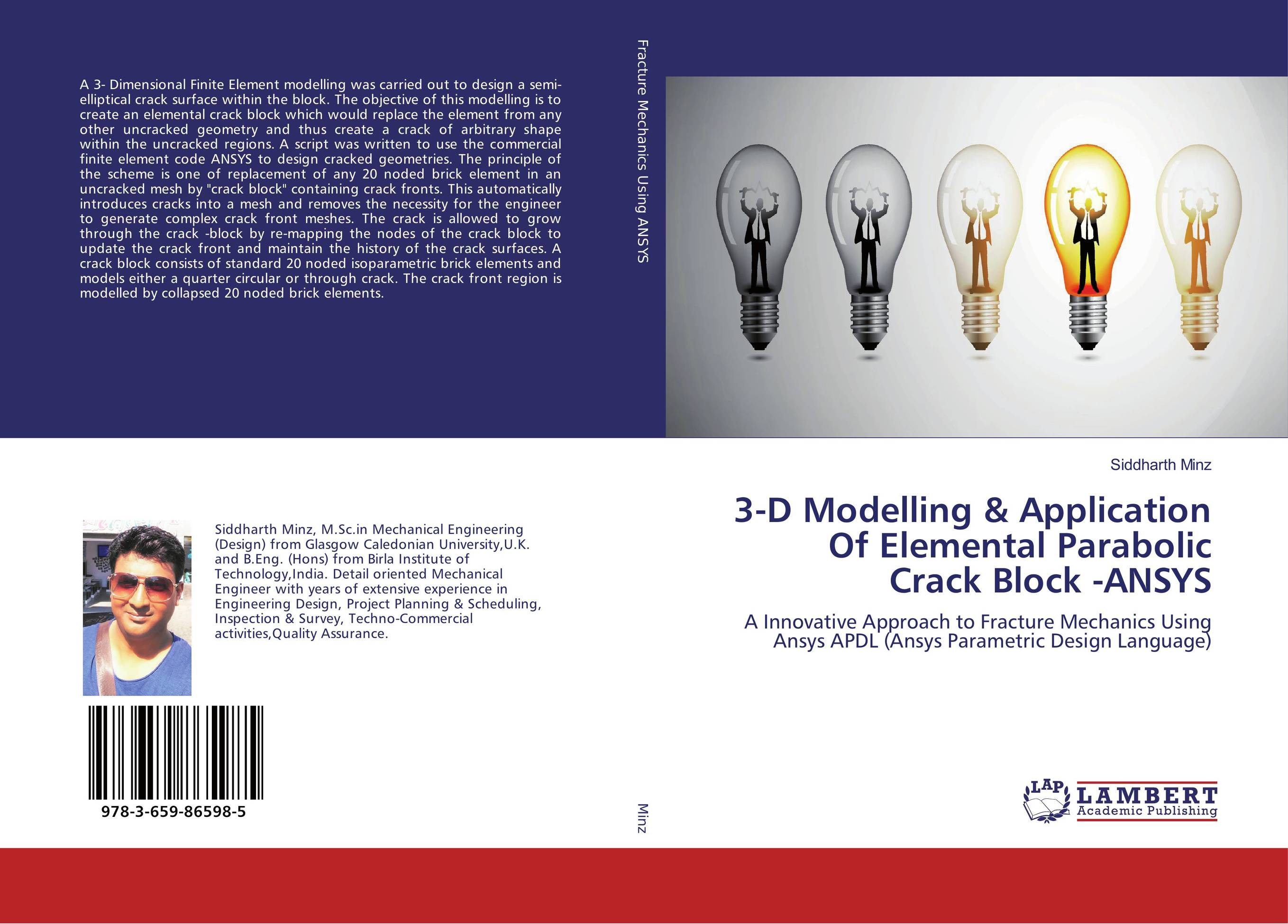 3-D Modelling & Application Of Elemental Parabolic Crack Block -ANSYS ratchet clank a crack in time