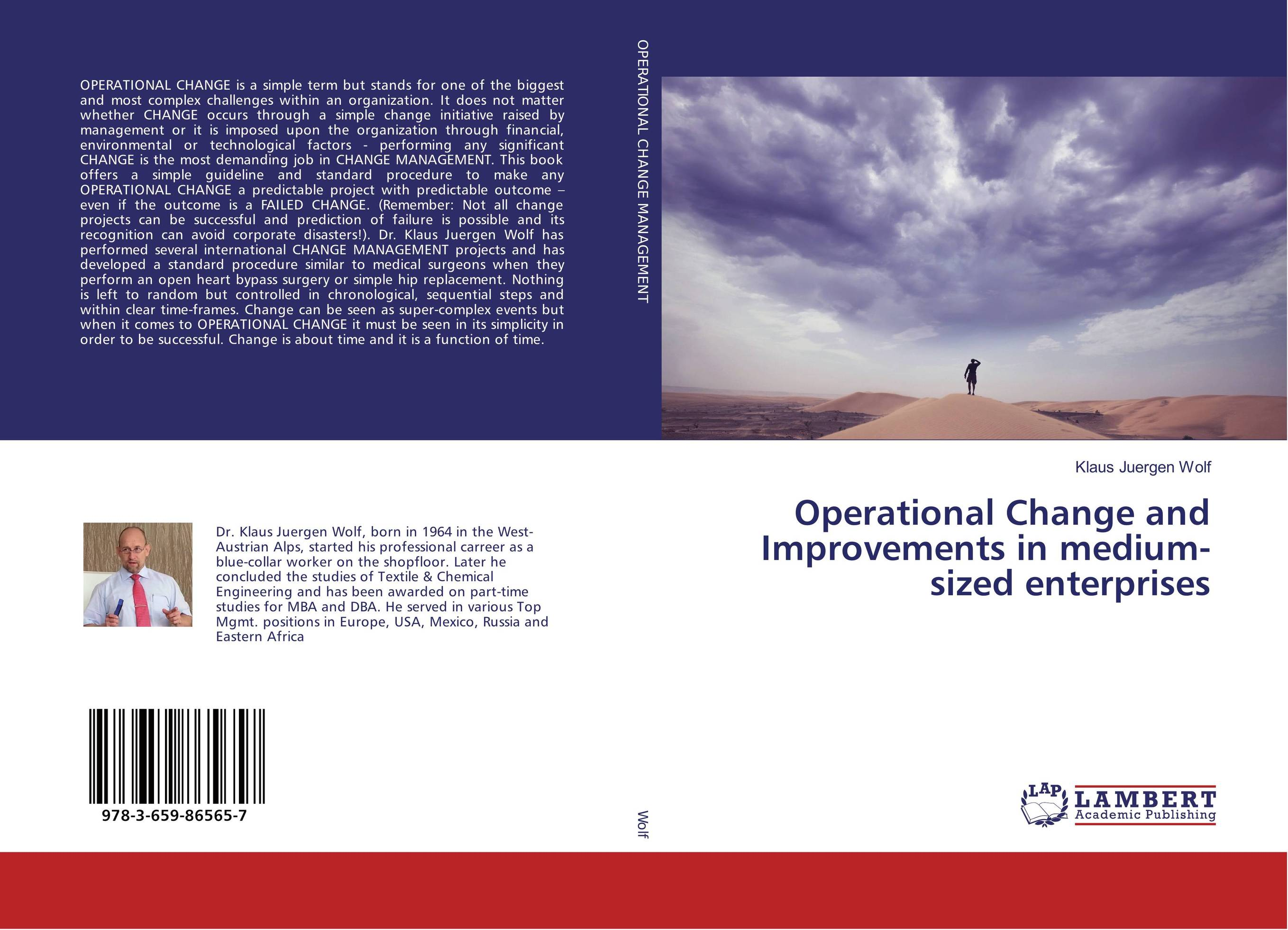 Operational Change and Improvements in medium-sized enterprises teach yourself change and crisis management