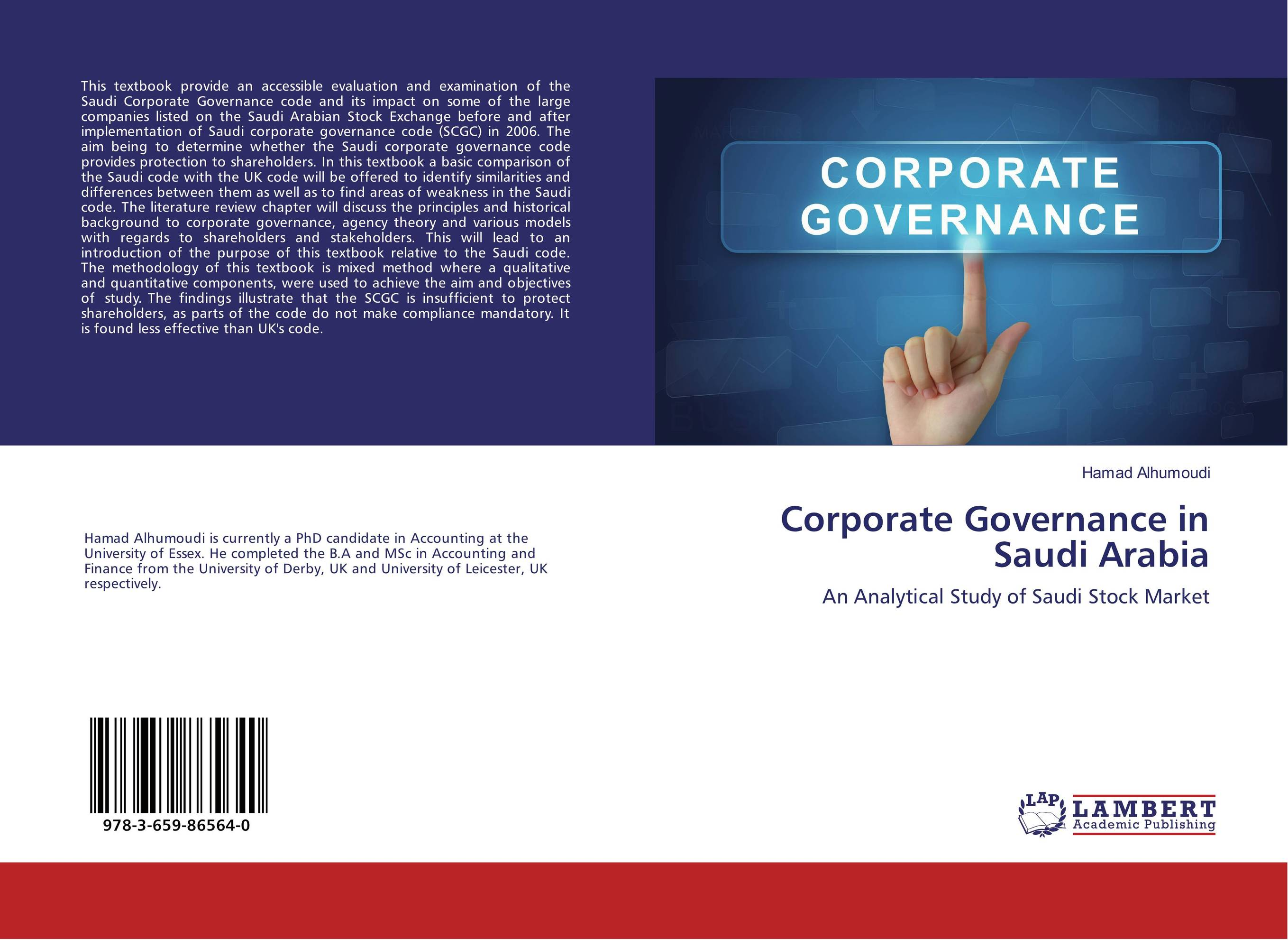 Corporate Governance in Saudi Arabia