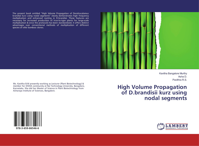 High Volume Propagation of D.brandisii kurz using nodal segments knights of sidonia volume 6