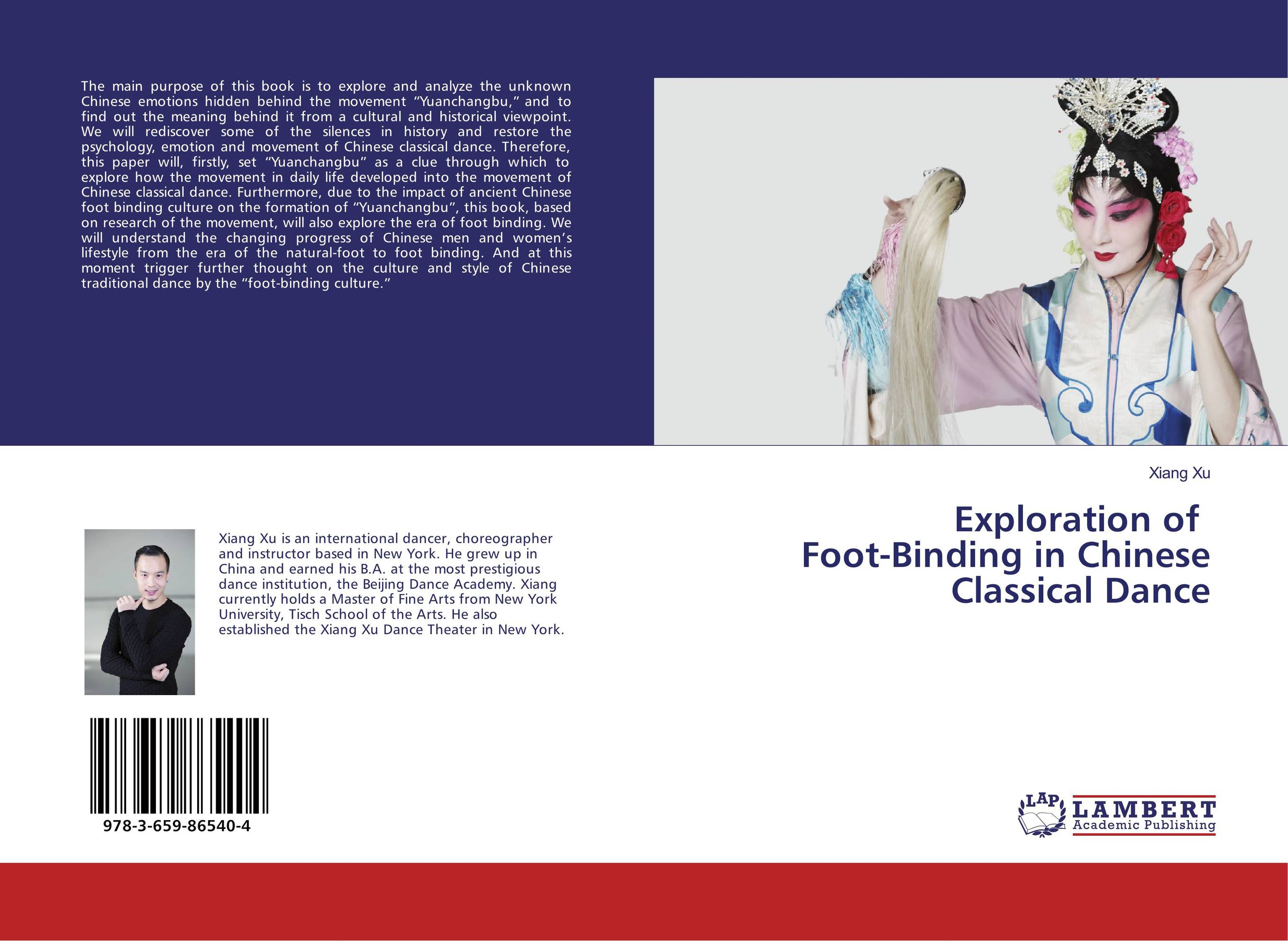 Exploration of Foot-Binding in Chinese Classical Dance smile at the foot of the ladder