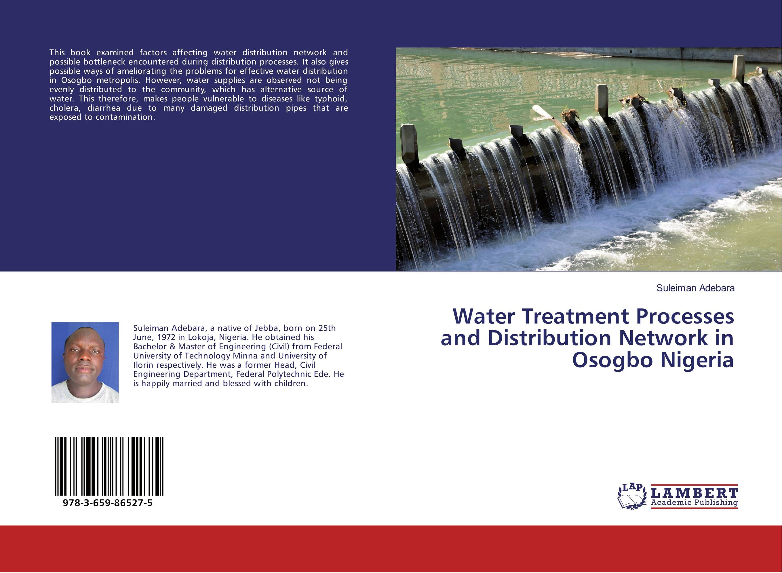 Water Treatment Processes and Distribution Network in Osogbo Nigeria distribution