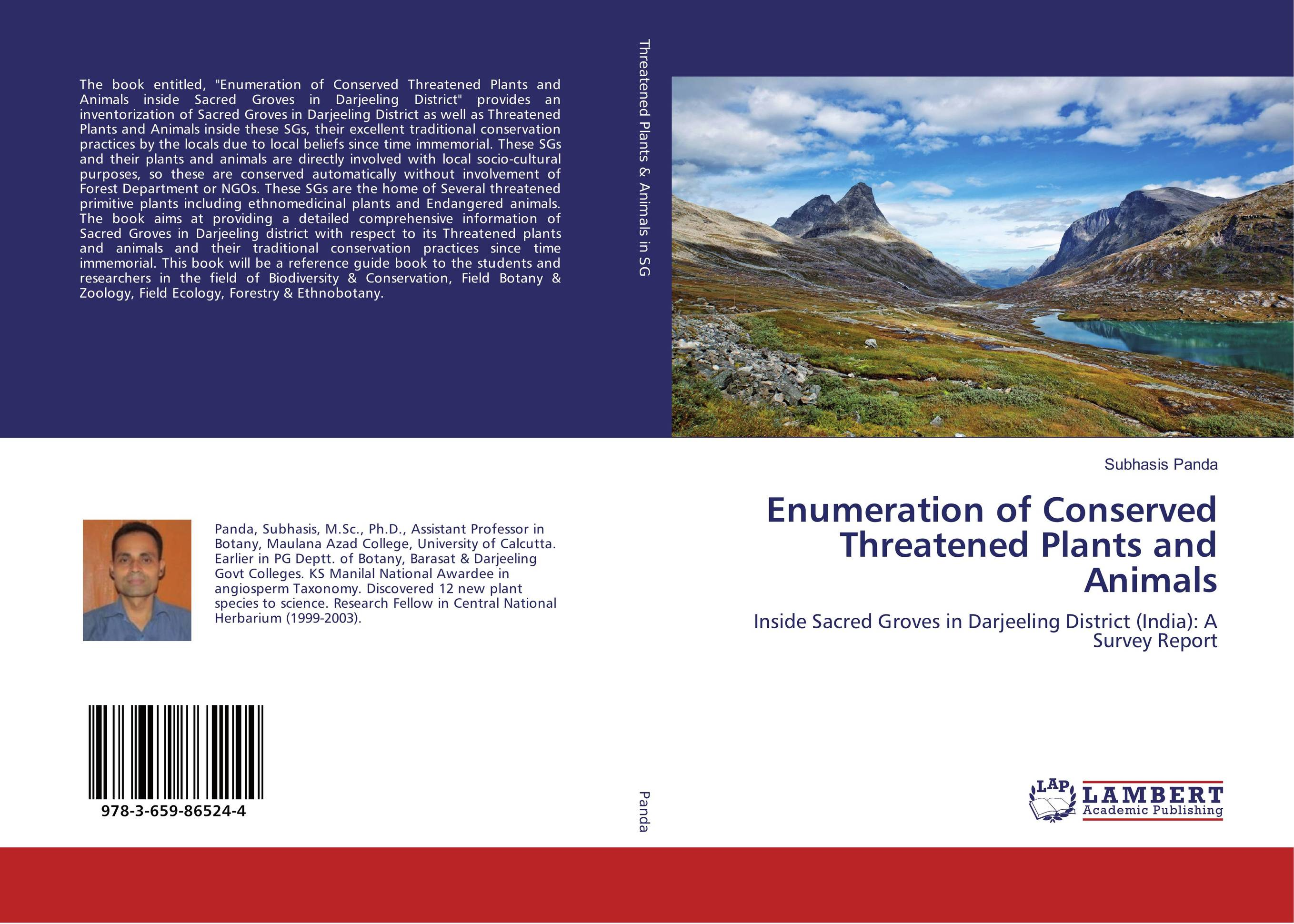Enumeration of Conserved Threatened Plants and Animals sacred groves