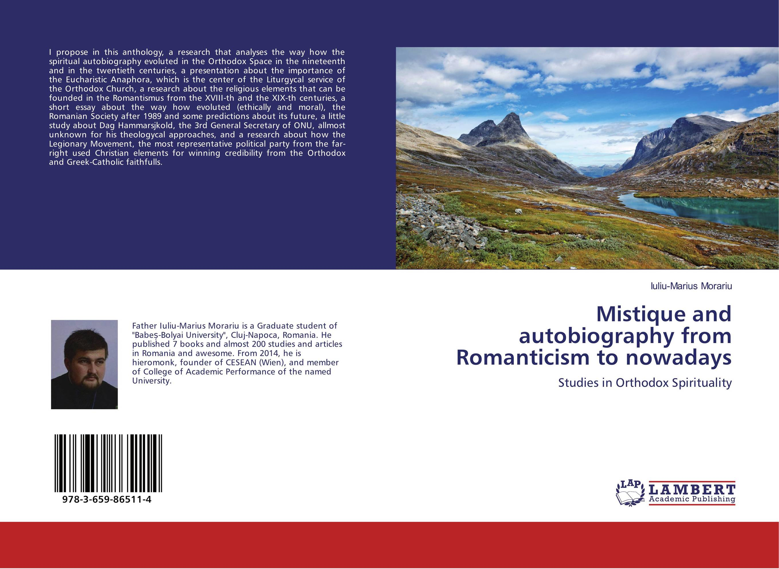Mistique and autobiography from Romanticism to nowadays the papacy and the orthodox