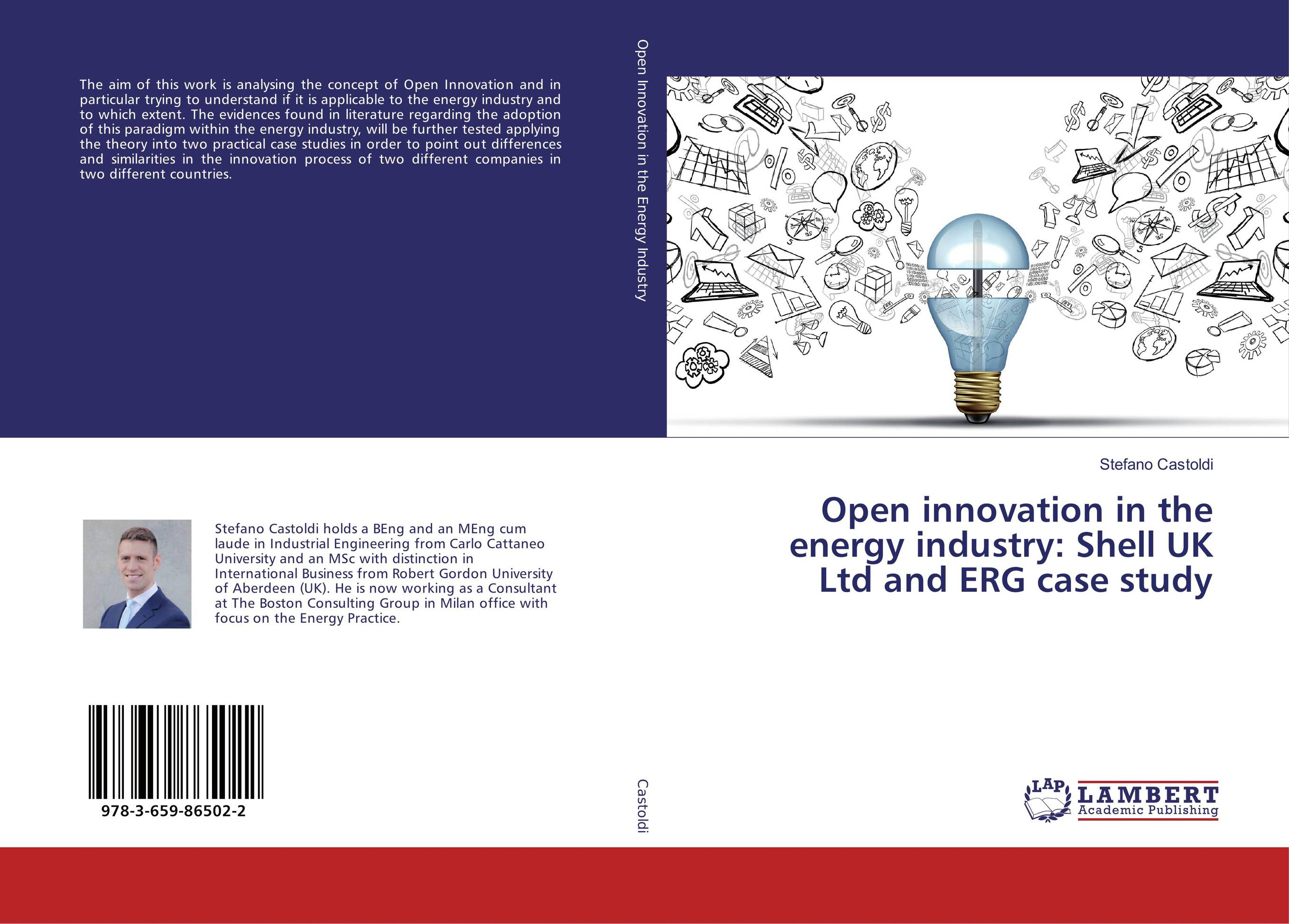Open innovation in the energy industry: Shell UK Ltd and ERG case study found in brooklyn