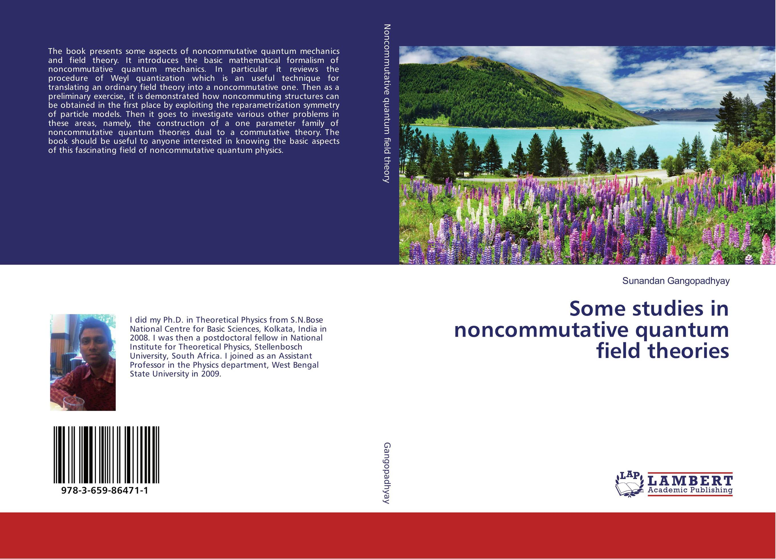 Some studies in noncommutative quantum field theories matthew d schwartz quantum field theory and the standard model