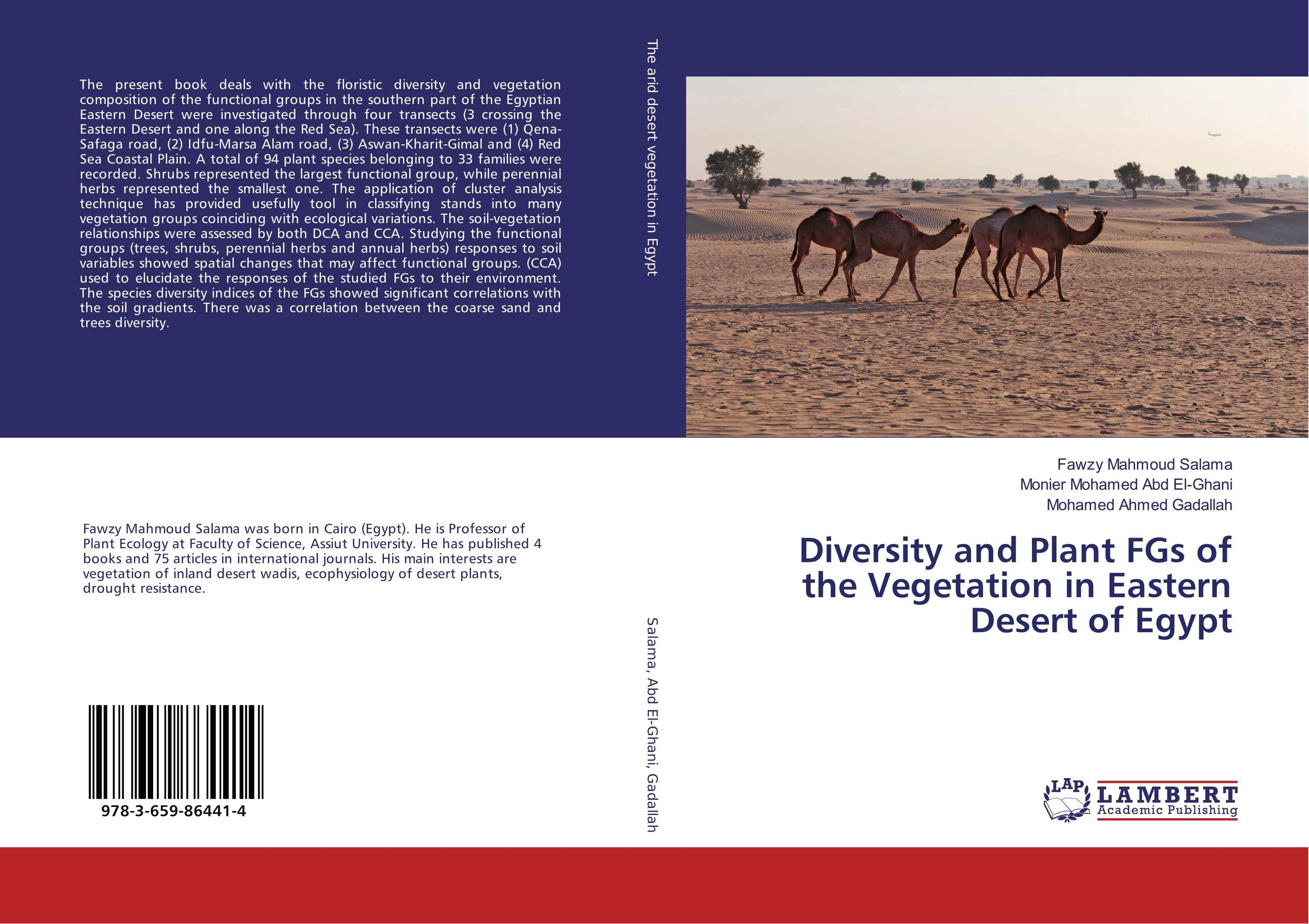 Diversity and Plant FGs of the Vegetation in Eastern Desert of Egypt linguistic diversity and social justice