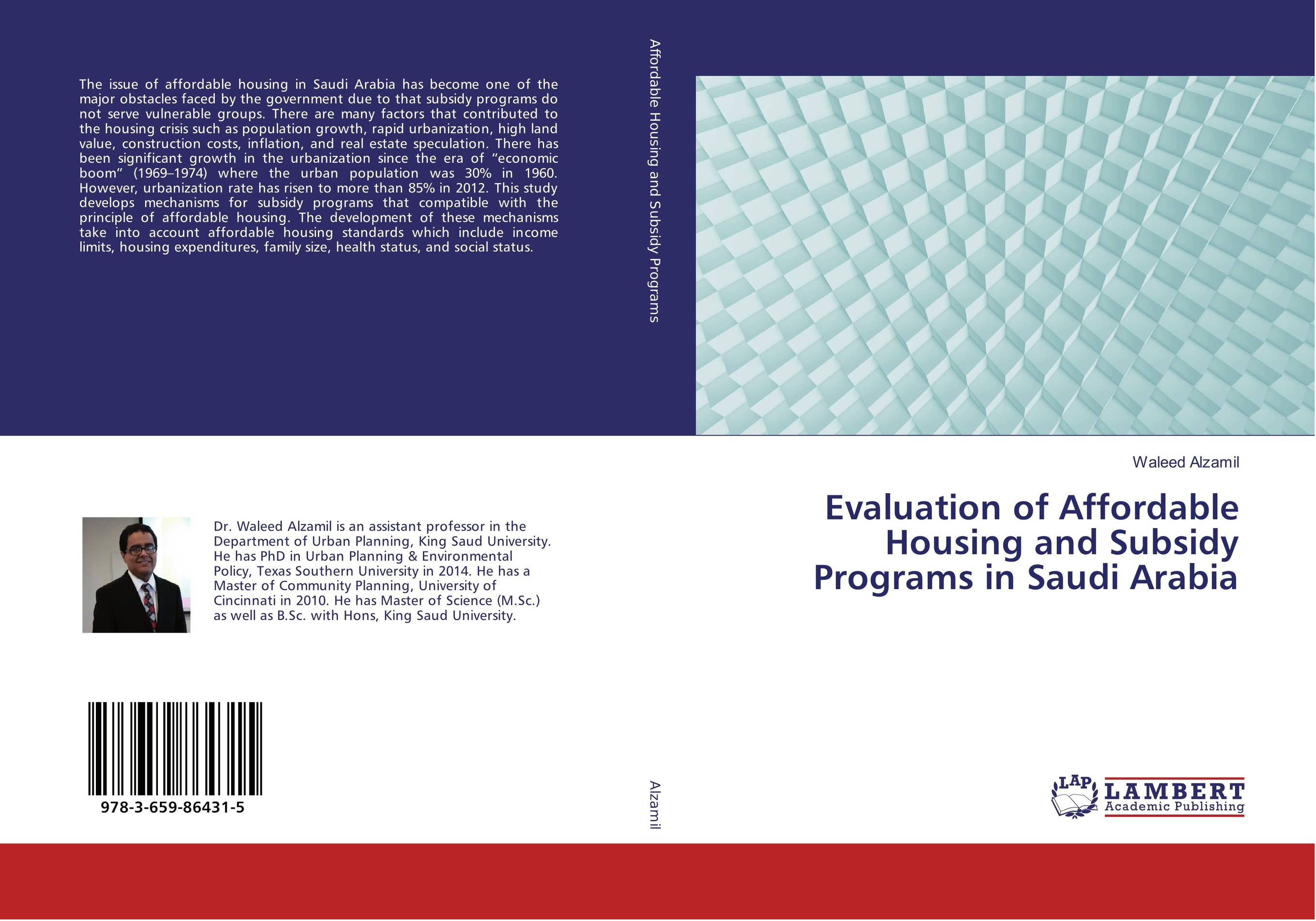 Evaluation of Affordable Housing and Subsidy Programs in Saudi Arabia social housing in glasgow volume 2