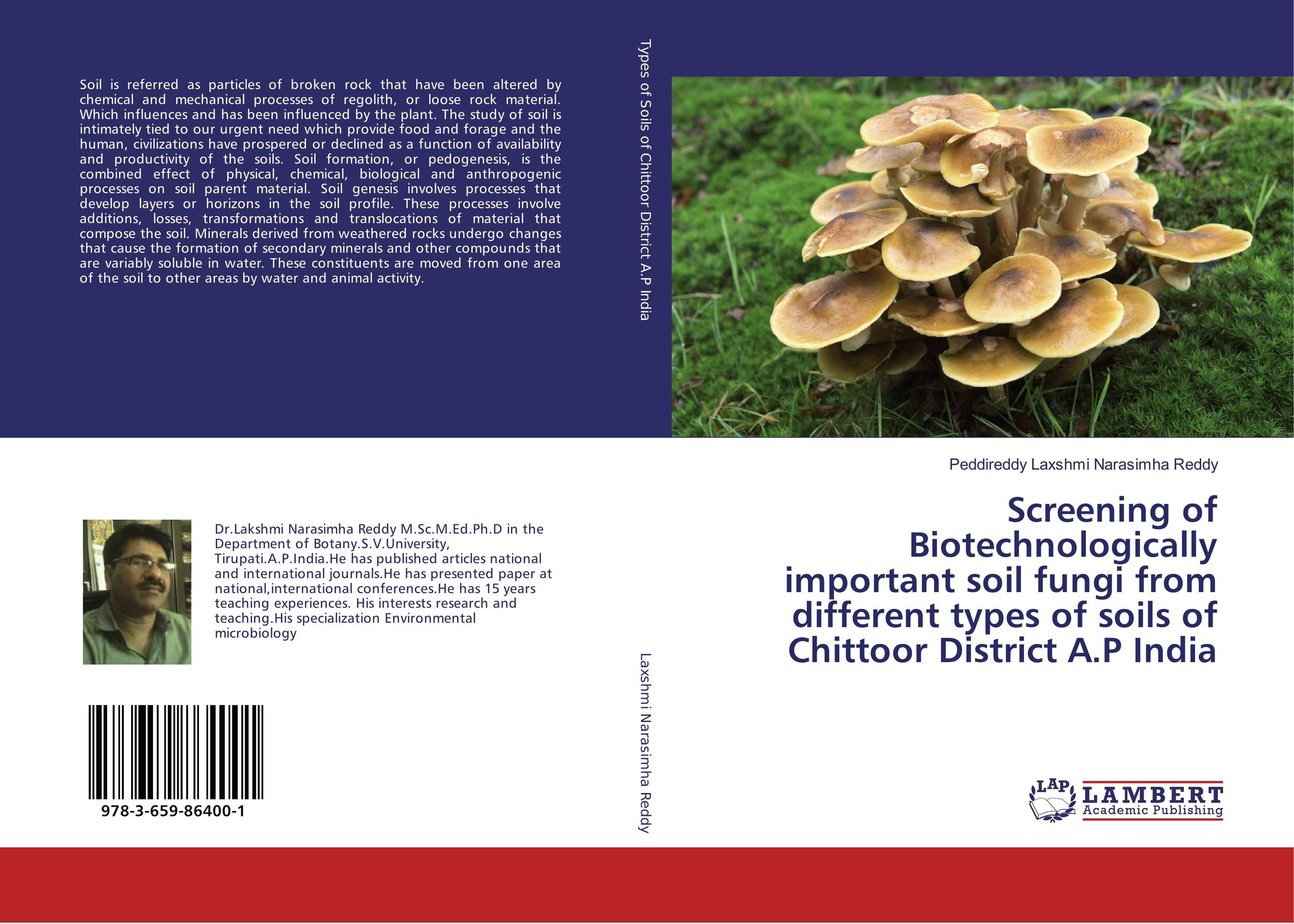 Screening of Biotechnologically important soil fungi from different types of soils of Chittoor District A.P India production and purification of laccase from white rot fungi