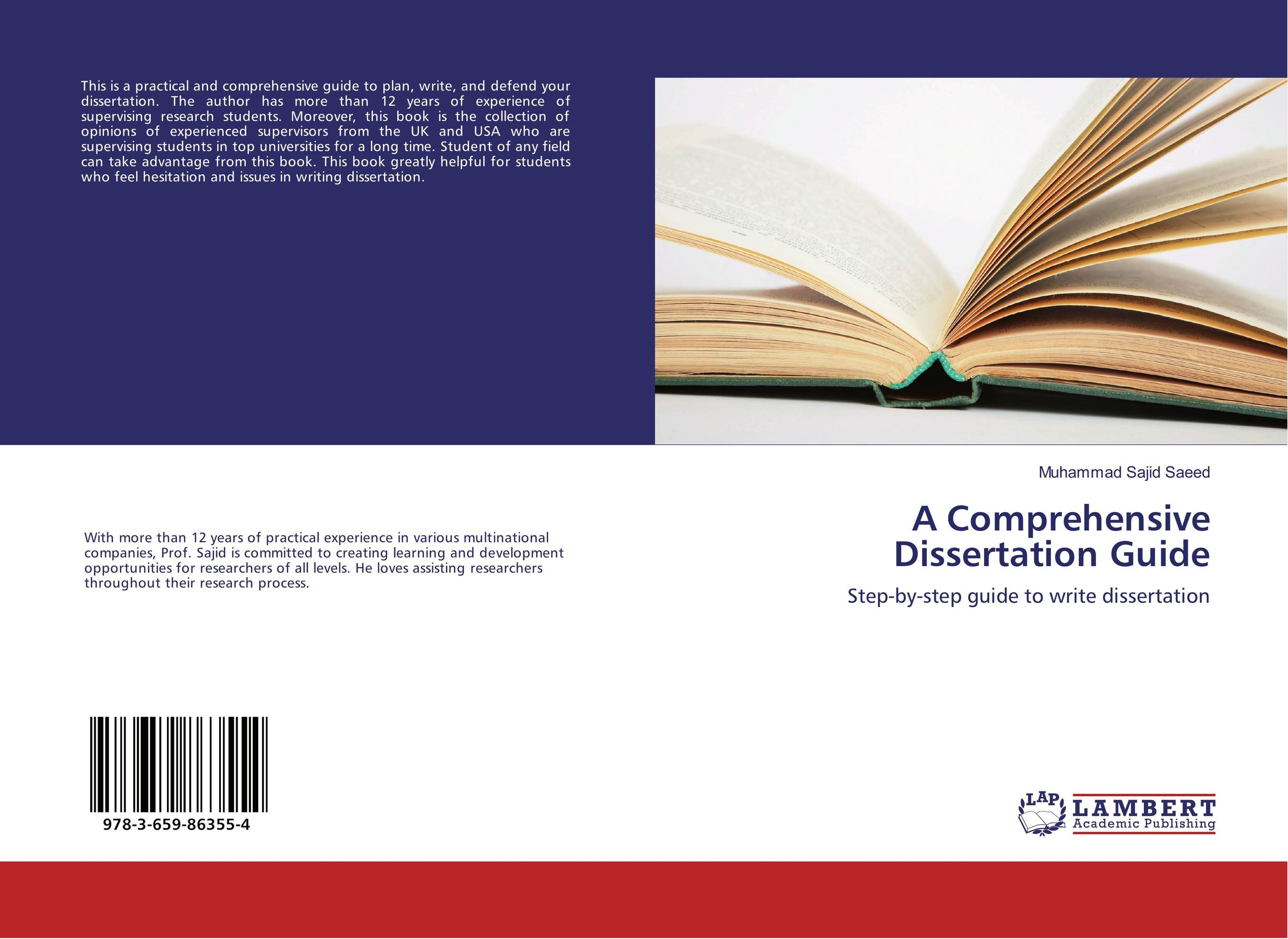A Comprehensive Dissertation Guide