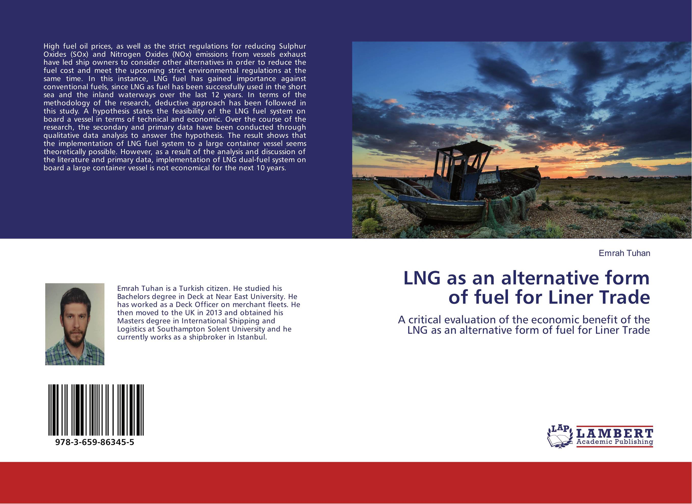 LNG as an alternative form of fuel for Liner Trade