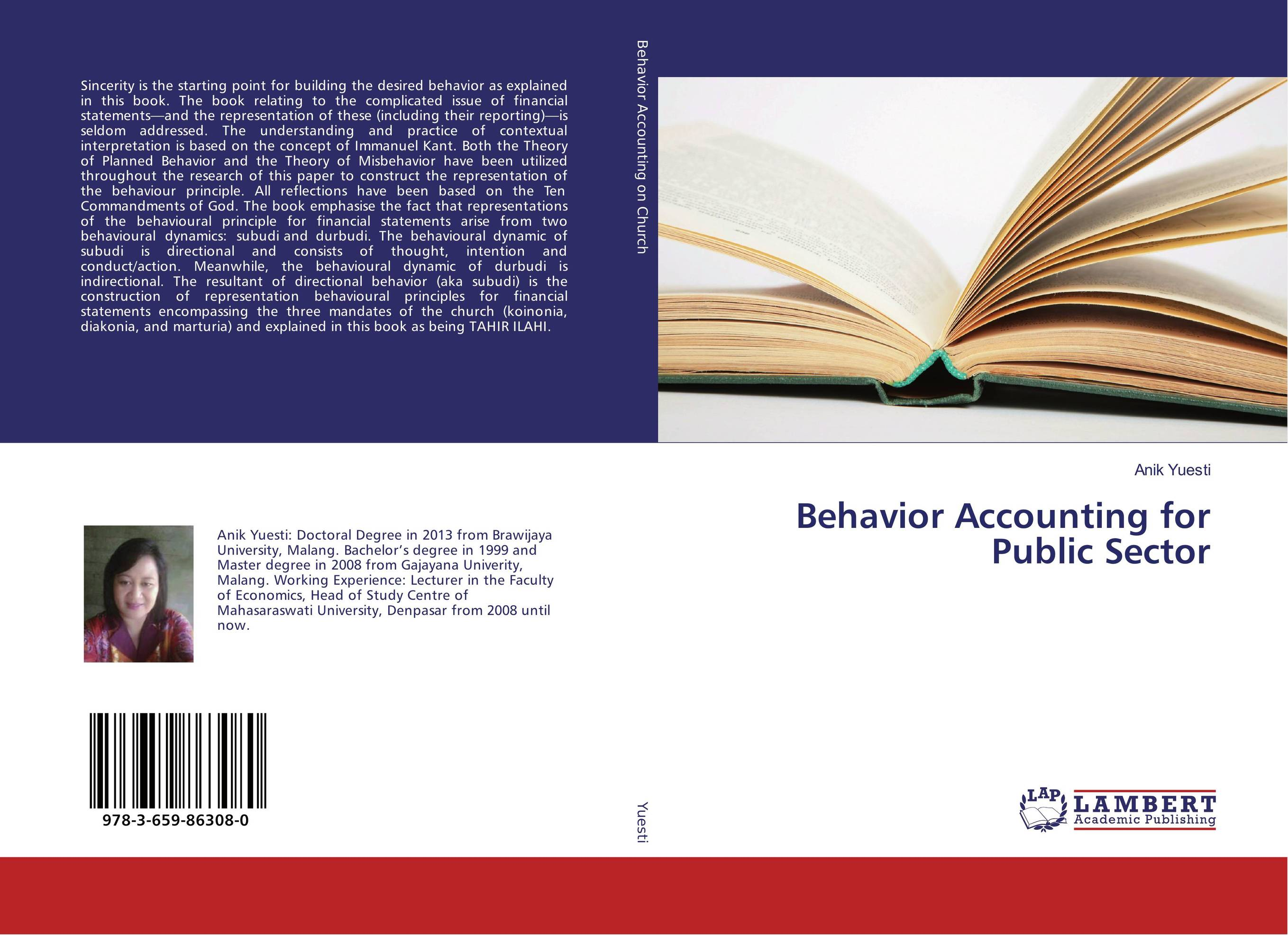 Behavior Accounting for Public Sector ittelson thomas financial statements