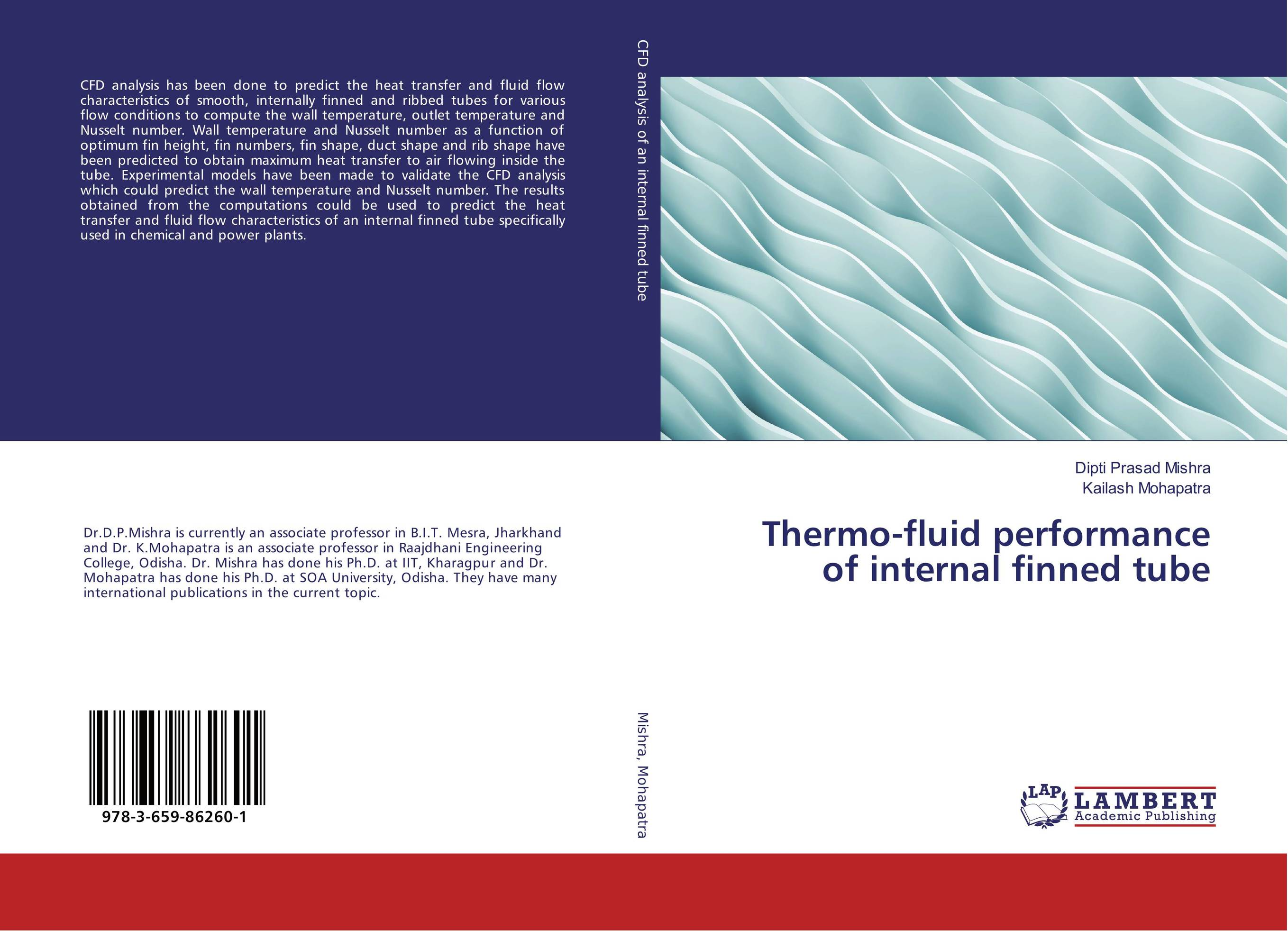 Thermo-fluid performance of internal finned tube tarek ahmed working guide to reservoir rock properties and fluid flow
