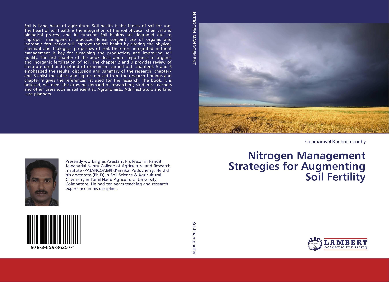 Nitrogen Management Strategies for Augmenting Soil Fertility sarah cheroben and cheroben integrated soil fertility management and marketing of farm produce