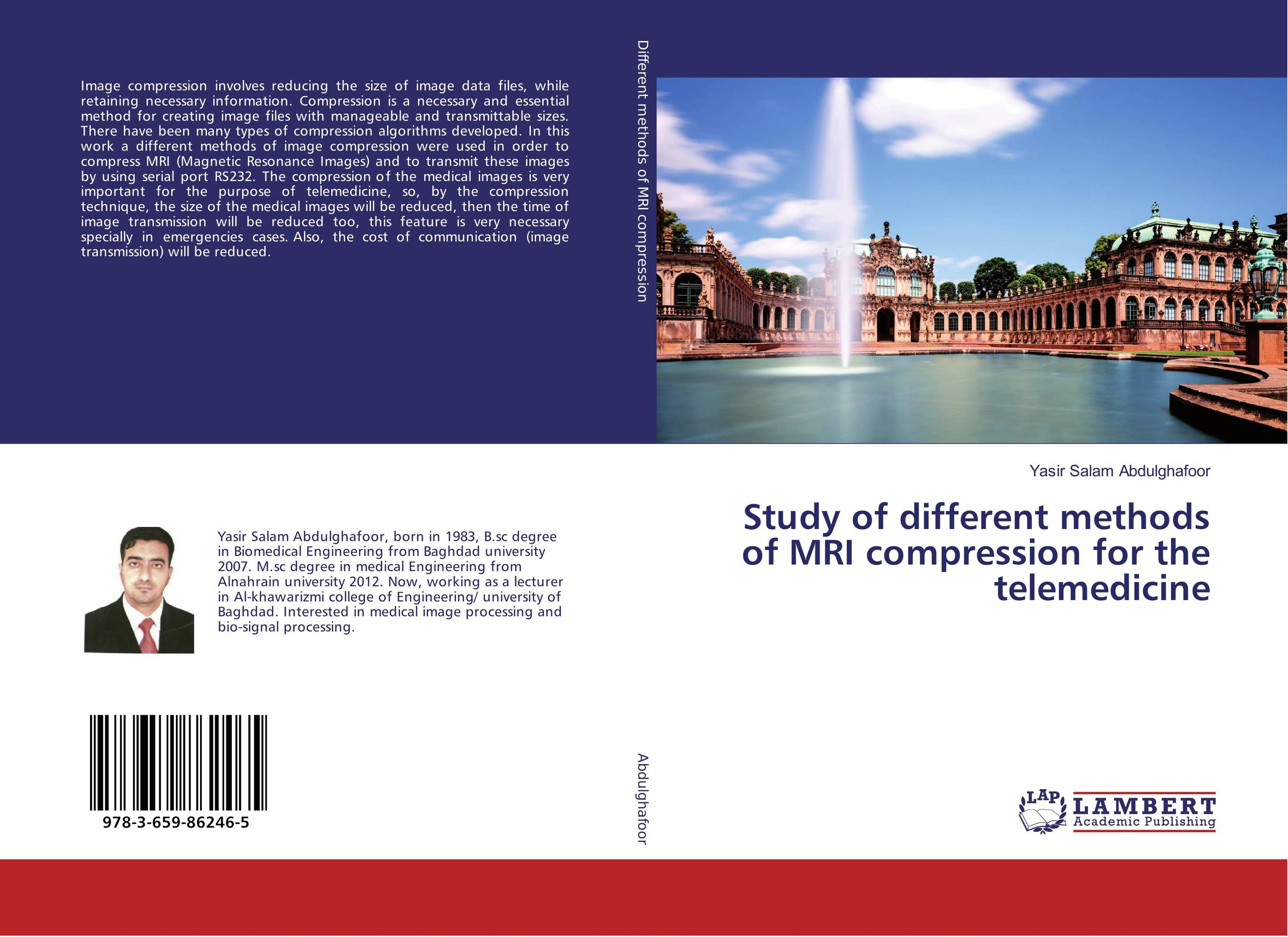 Study of different methods of MRI compression for the telemedicine