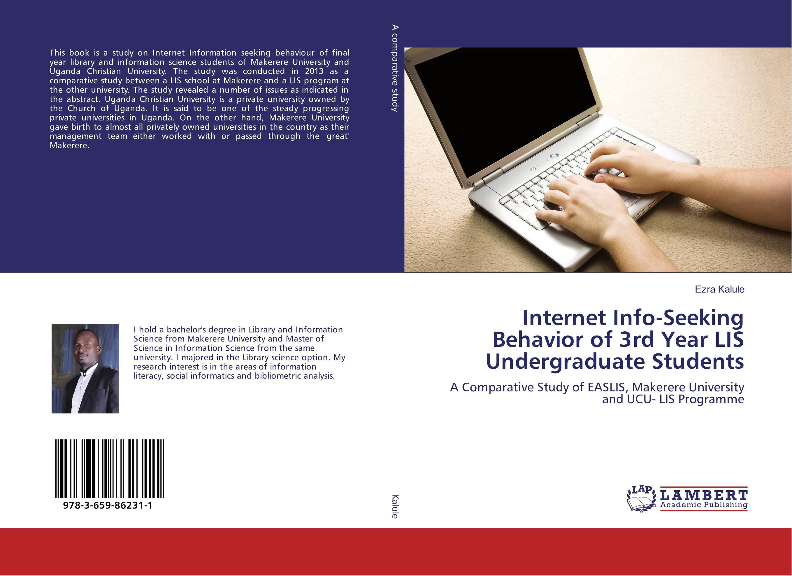 Internet Info-Seeking Behavior of 3rd Year LIS Undergraduate Students