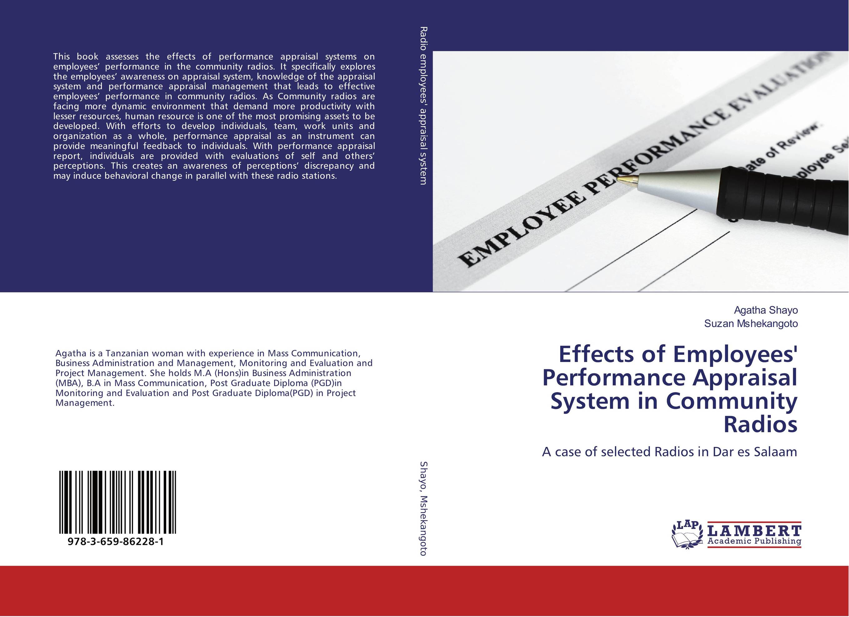 Effects of Employees' Performance Appraisal System in Community Radios performance appraisal system in the macedonian civil service