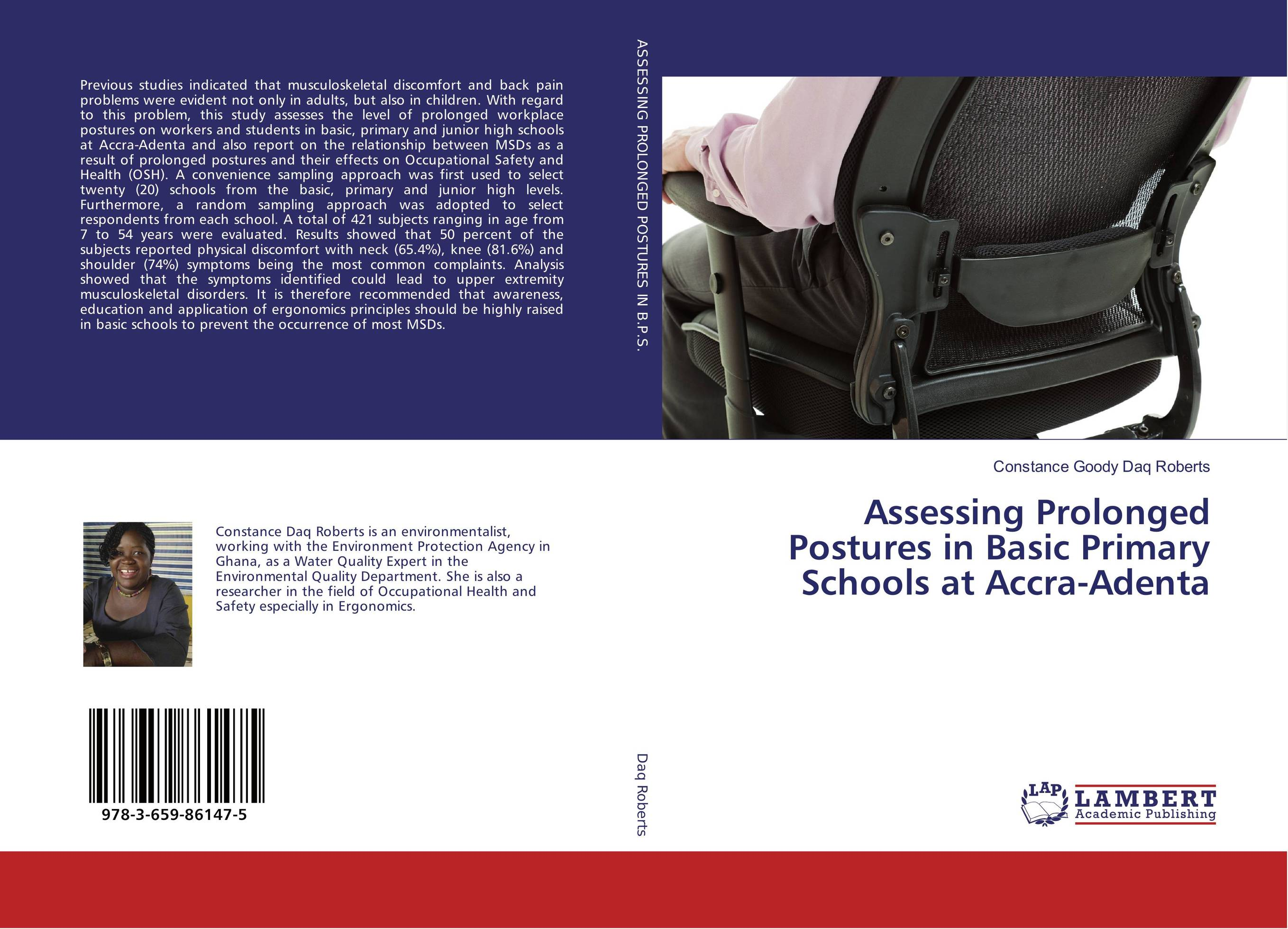 Assessing Prolonged Postures in Basic Primary Schools at Accra-Adenta assessing the toxic effects of sodium metabisulphite