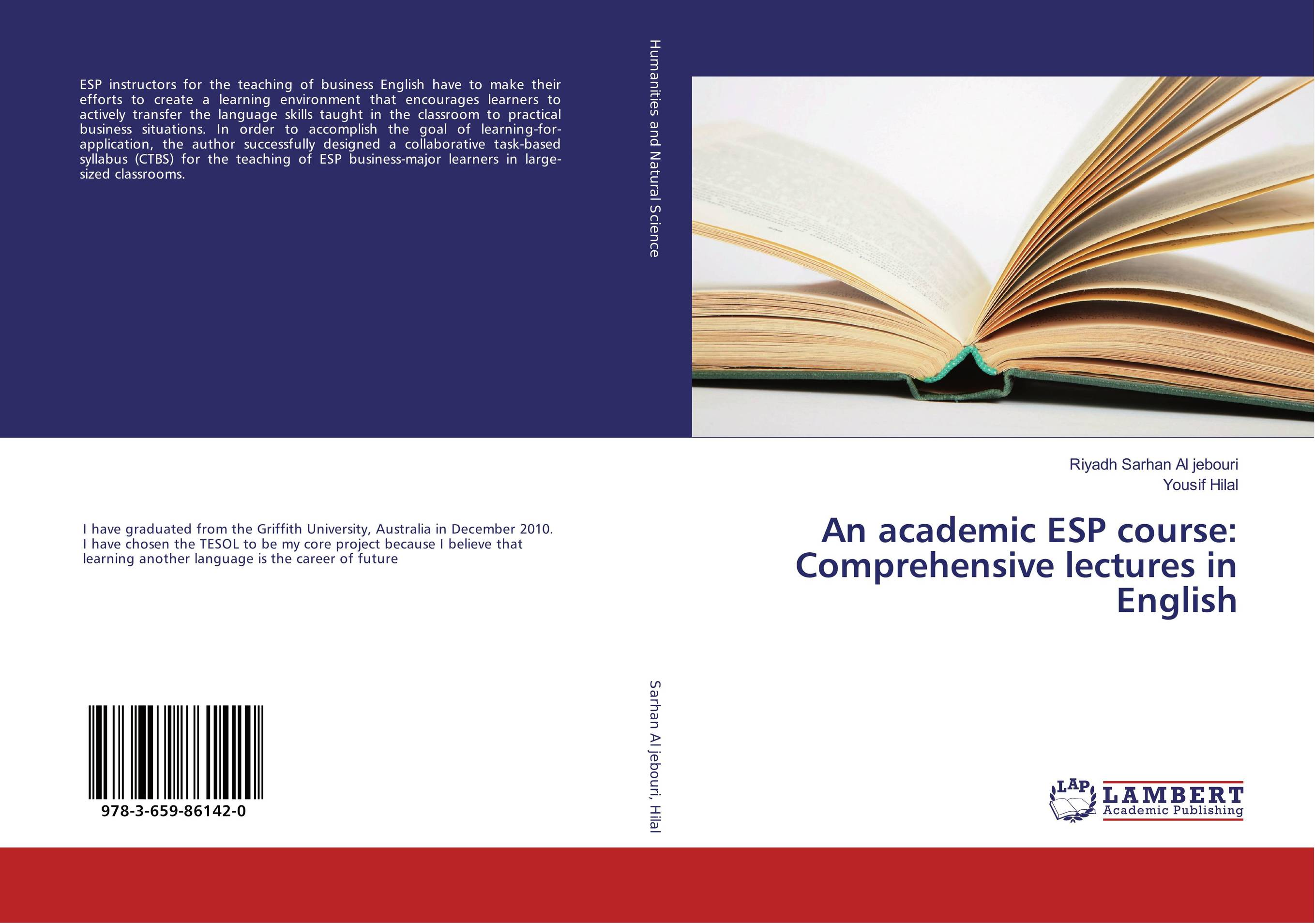 An academic ESP course: Comprehensive lectures in English mohamed sayed hassan lectures on philosophy of science