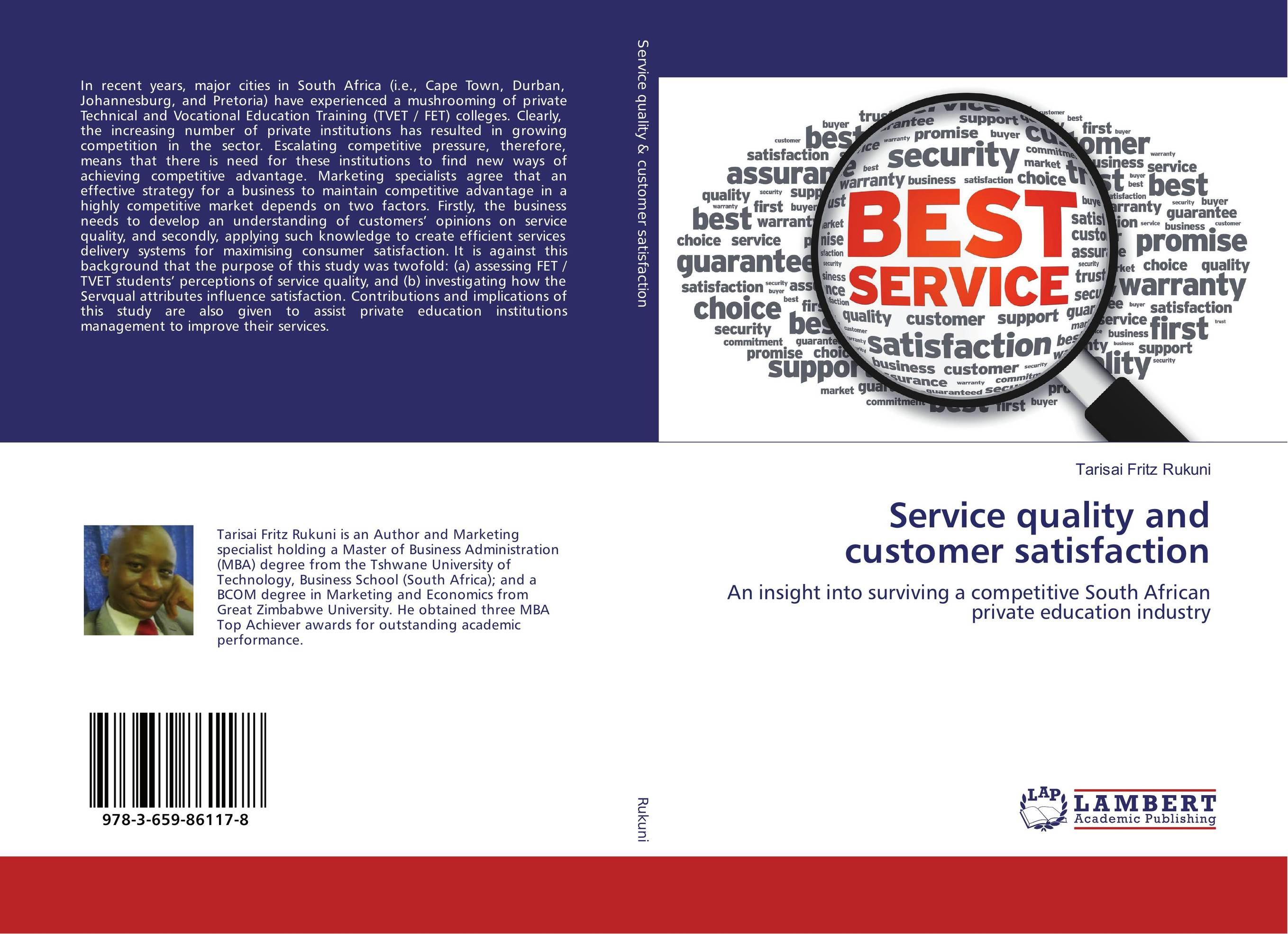Service quality and customer satisfaction customer satisfaction with service quality