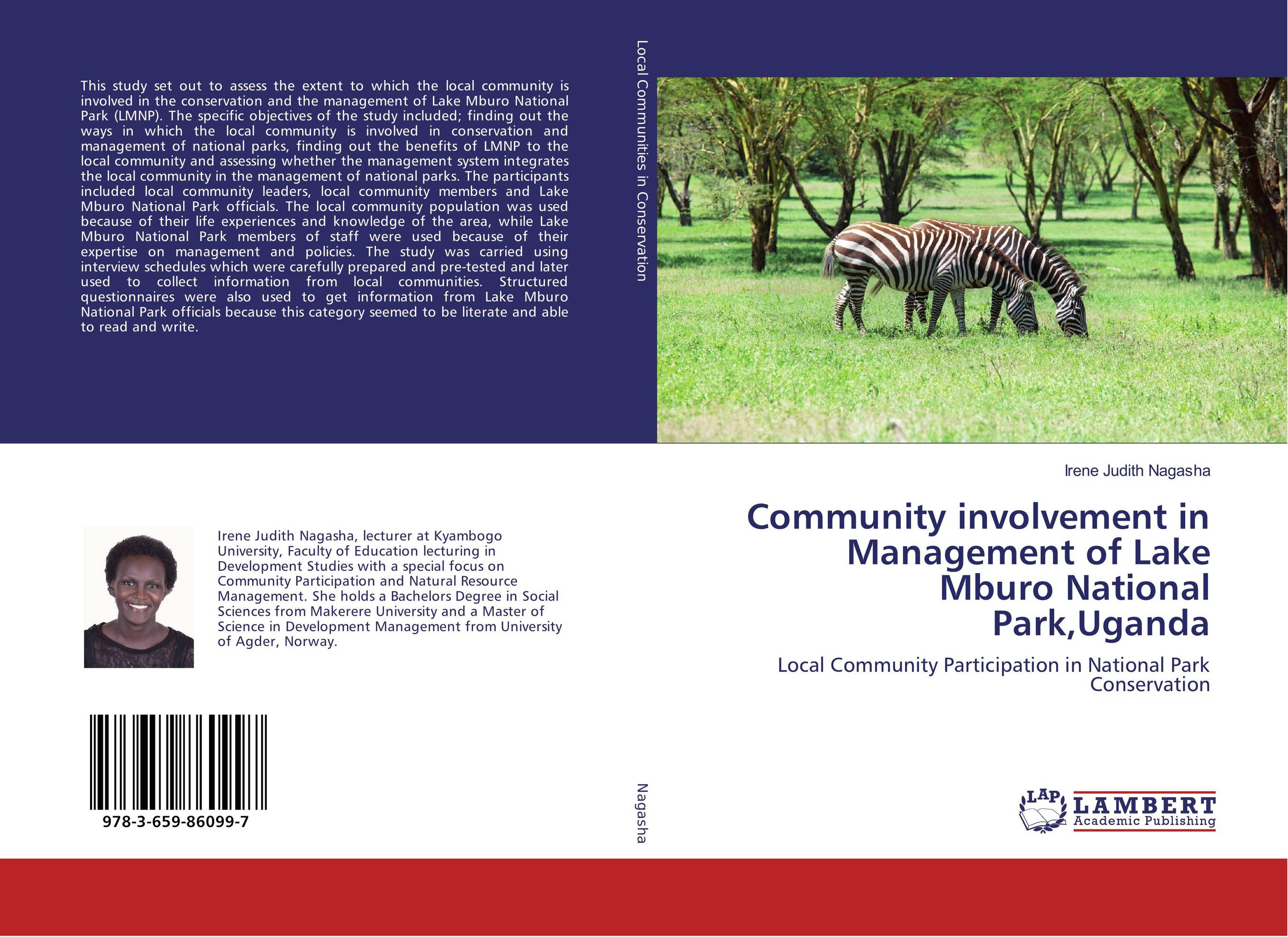 Community involvement in Management of Lake Mburo National Park,Uganda public parks – the key to livable communities