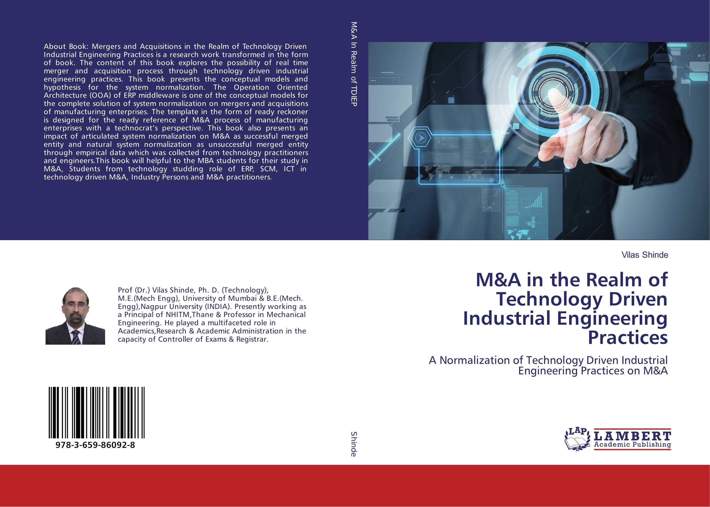 M&A in the Realm of Technology Driven Industrial Engineering Practices dong qu manufacturing and managing customer driven derivatives