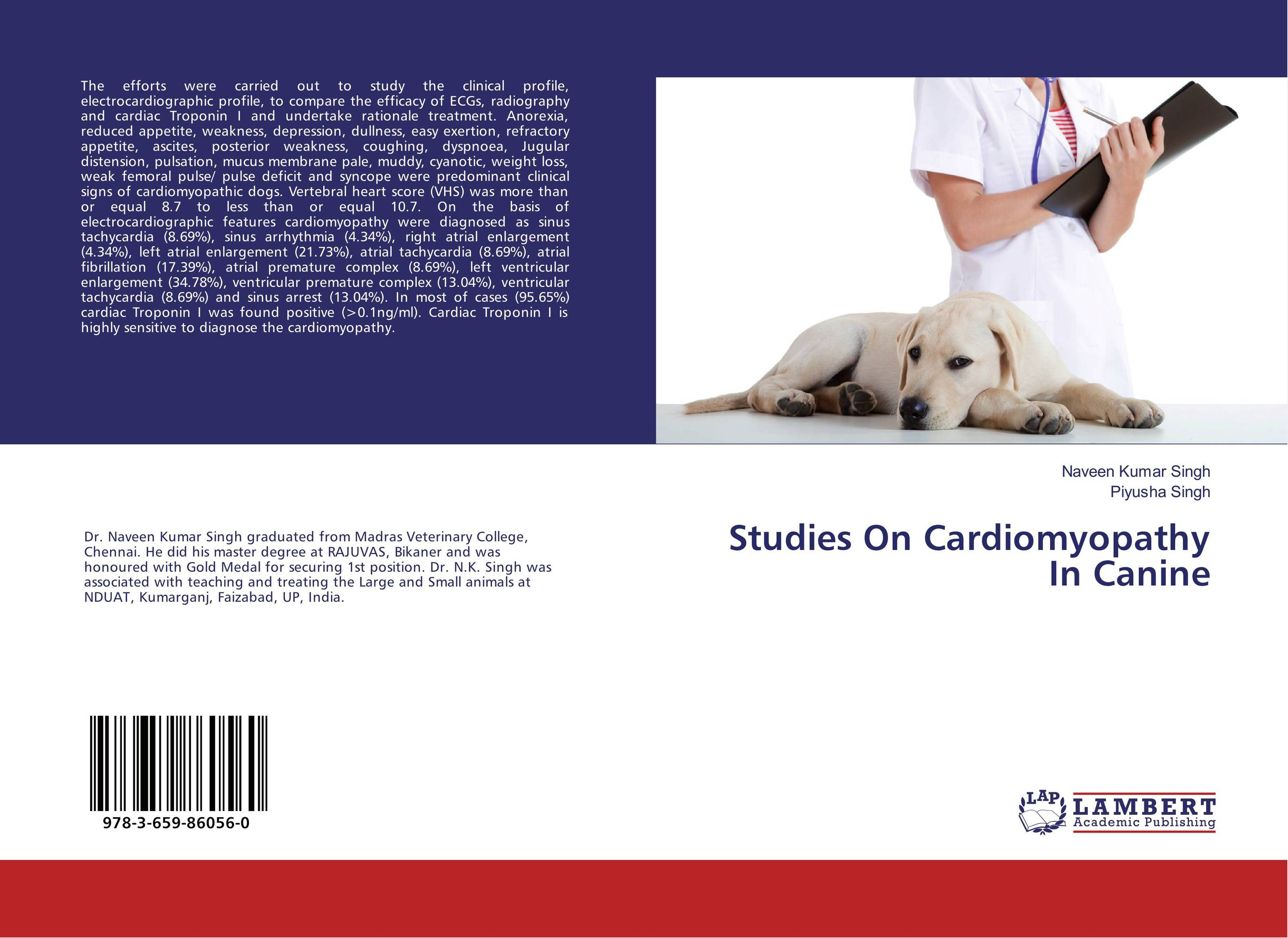 Studies On Cardiomyopathy In Canine