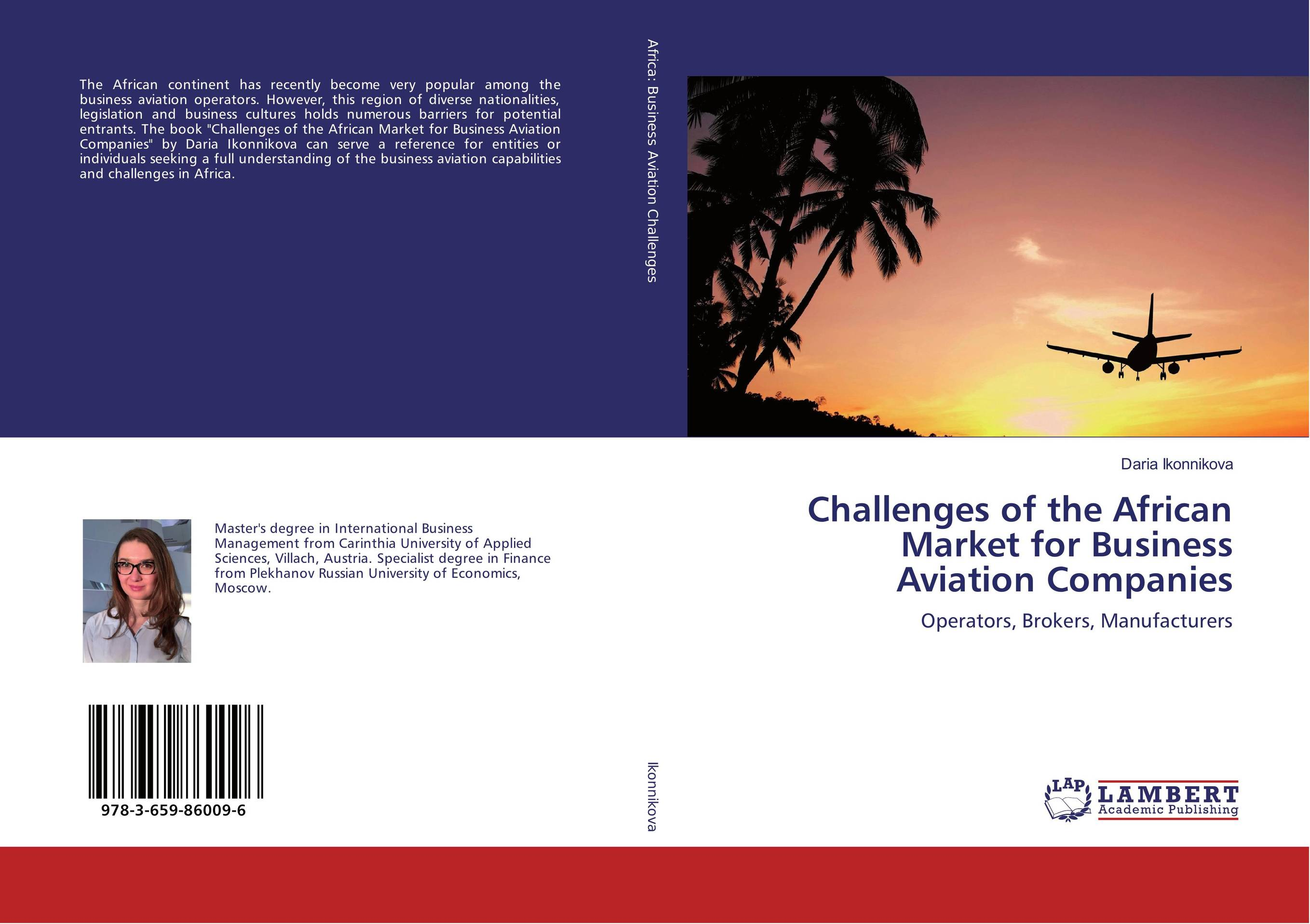 Challenges of the African Market for Business Aviation Companies рюкзак picard 4503 51b 001 schwarz