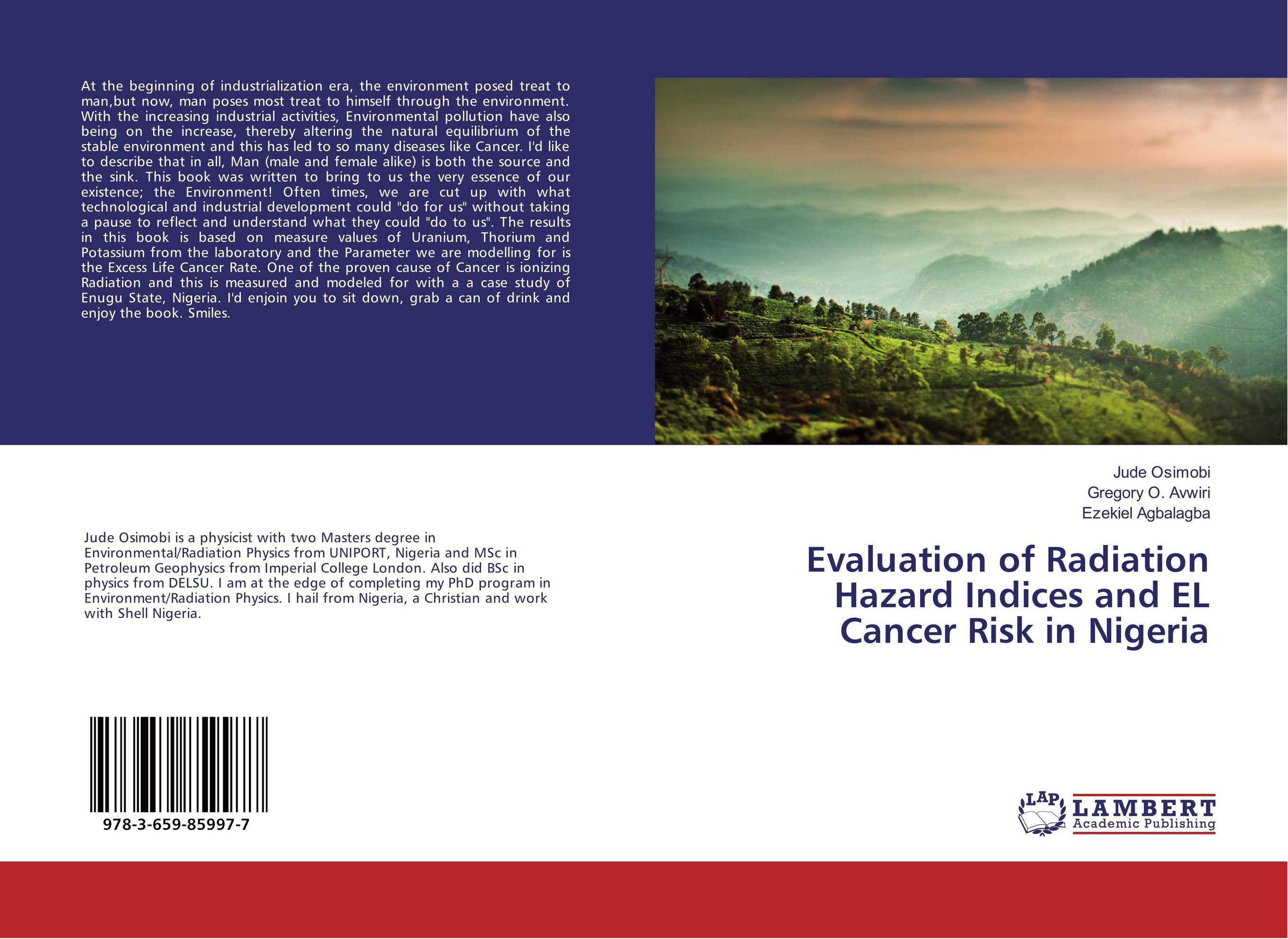 Evaluation of Radiation Hazard Indices and EL Cancer Risk in Nigeria viruses cell transformation and cancer 5