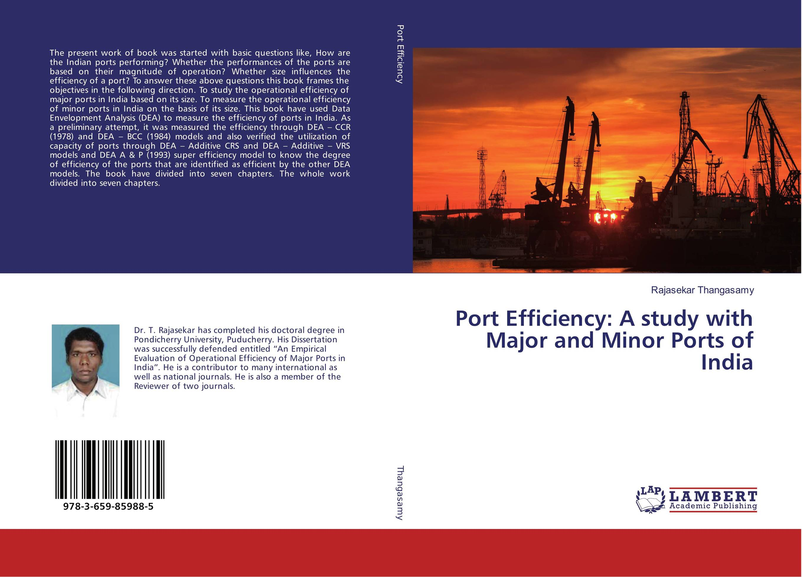 Port Efficiency: A study with Major and Minor Ports of India empirical evaluation of operational efficiency of major ports in india