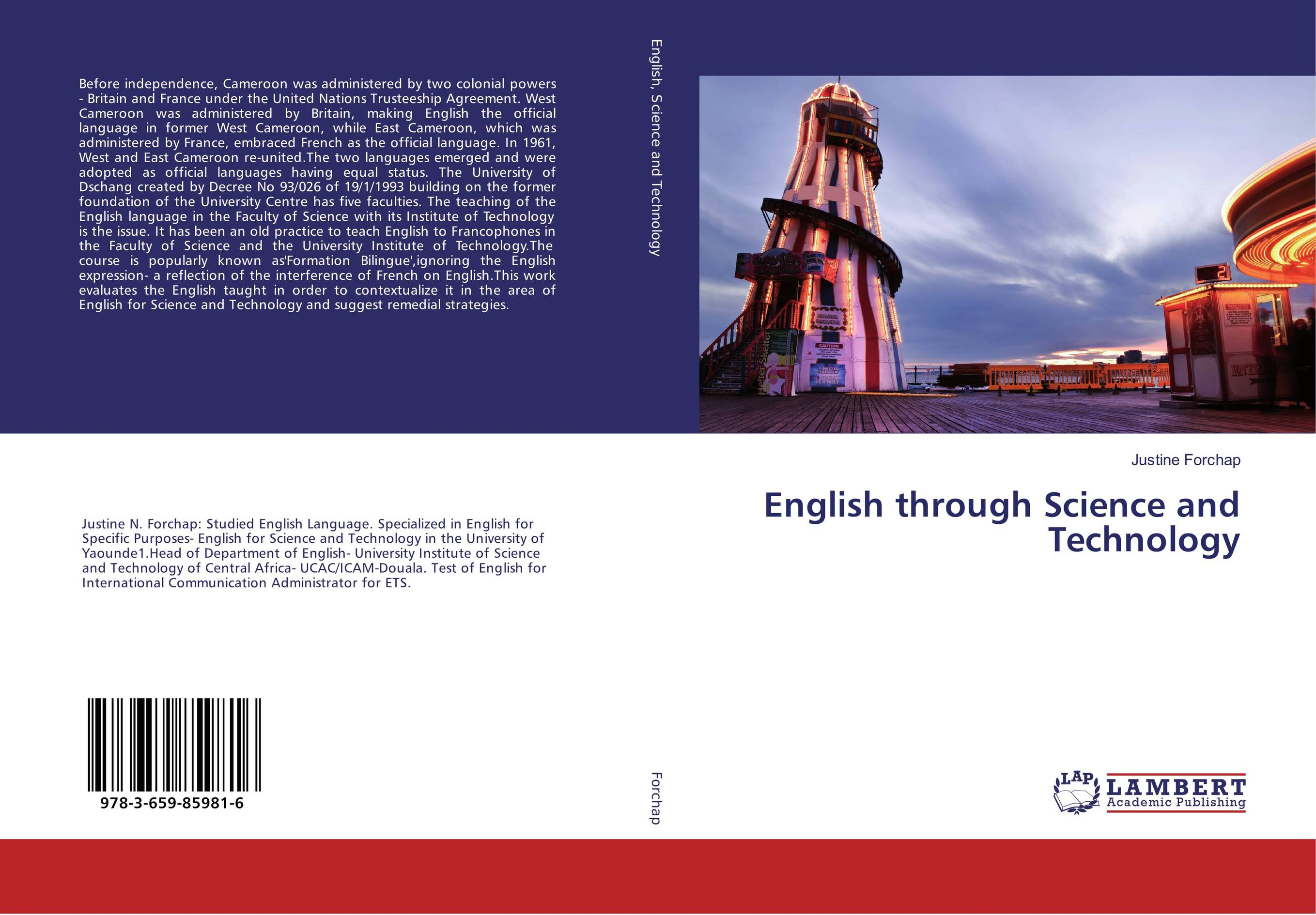 English through Science and Technology озонатор бытовой days of science and technology tm017 5g h