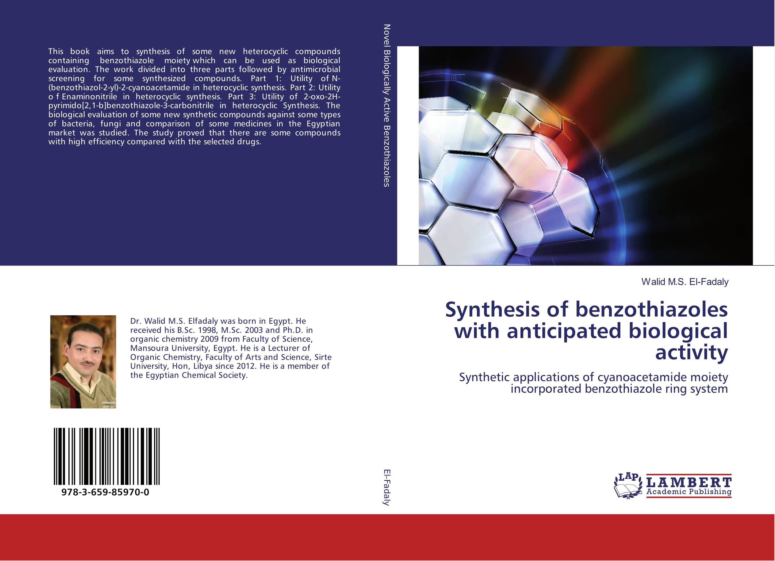 Synthesis of benzothiazoles with anticipated biological activity