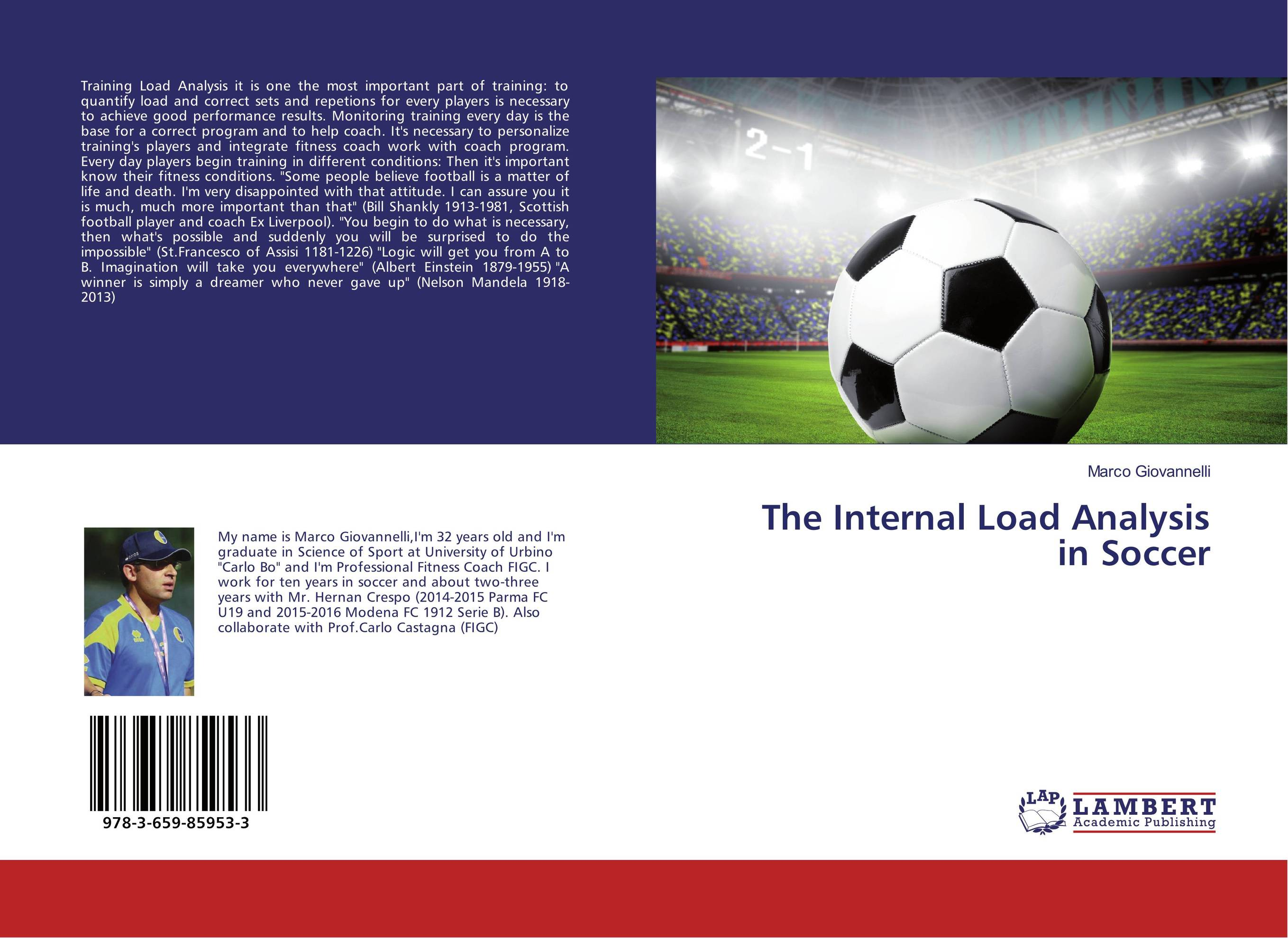 The Internal Load Analysis in Soccer the internal load analysis in soccer