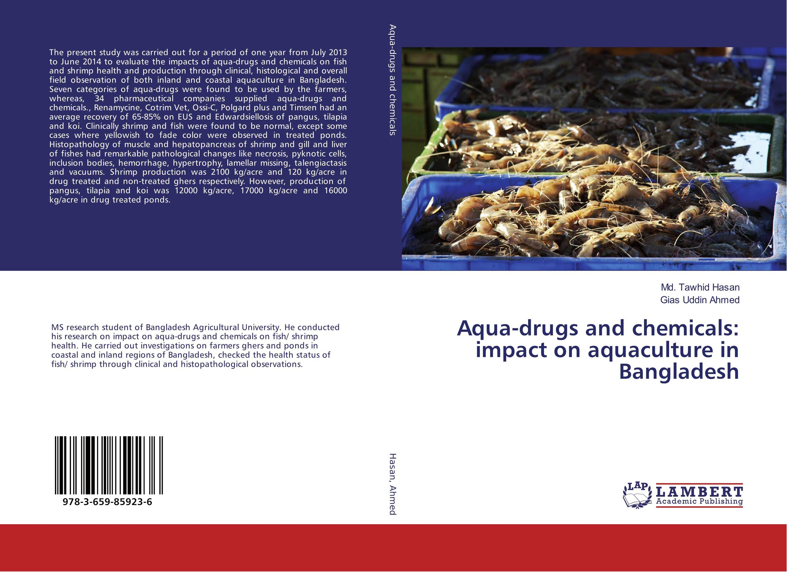 Aqua-drugs and chemicals: impact on aquaculture in Bangladesh