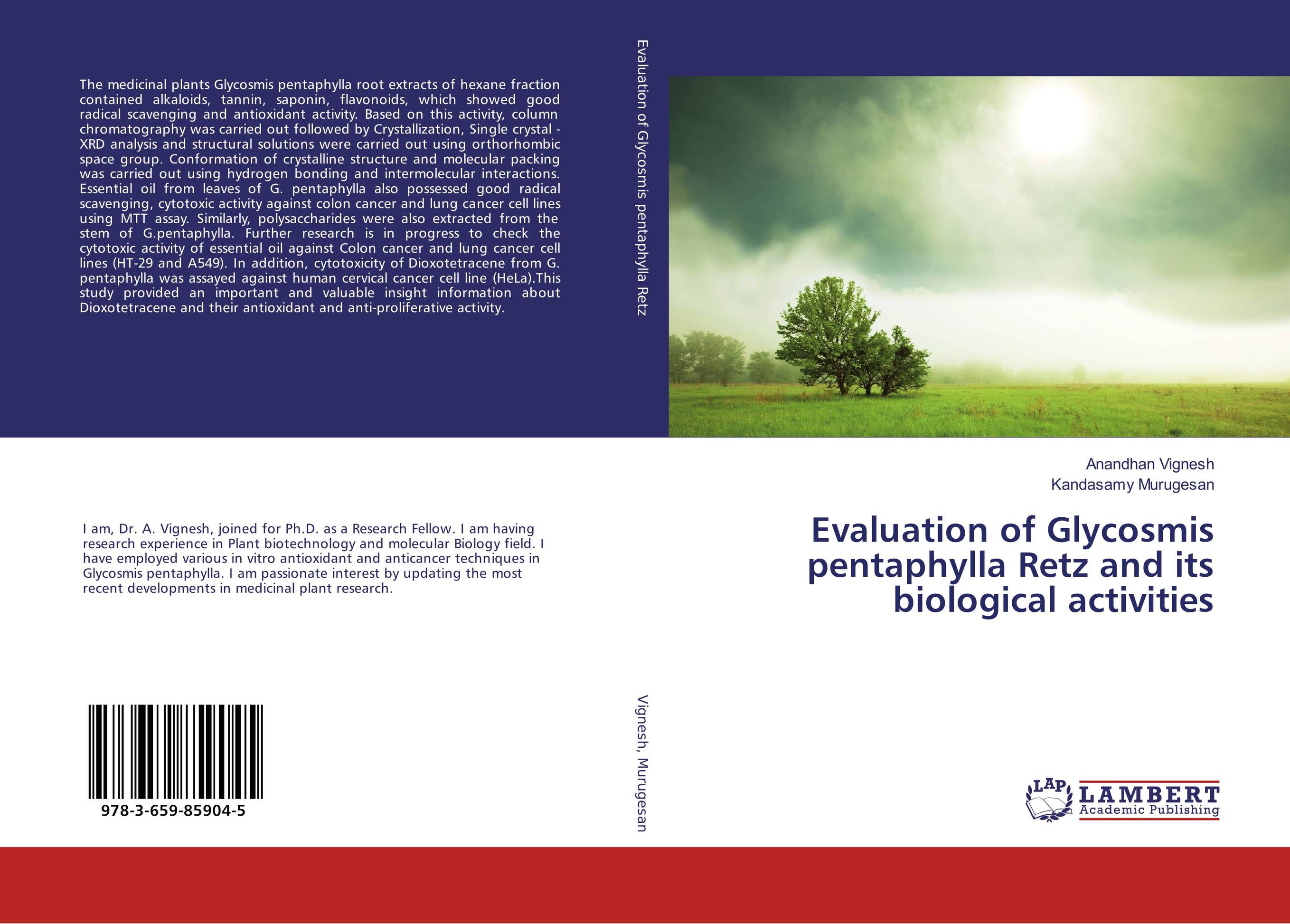 Evaluation of Glycosmis pentaphylla Retz and its biological activities md rabiul islam s m ibrahim sumon and farhana lipi phytochemical evaluation of leaves of cymbopogan citratus