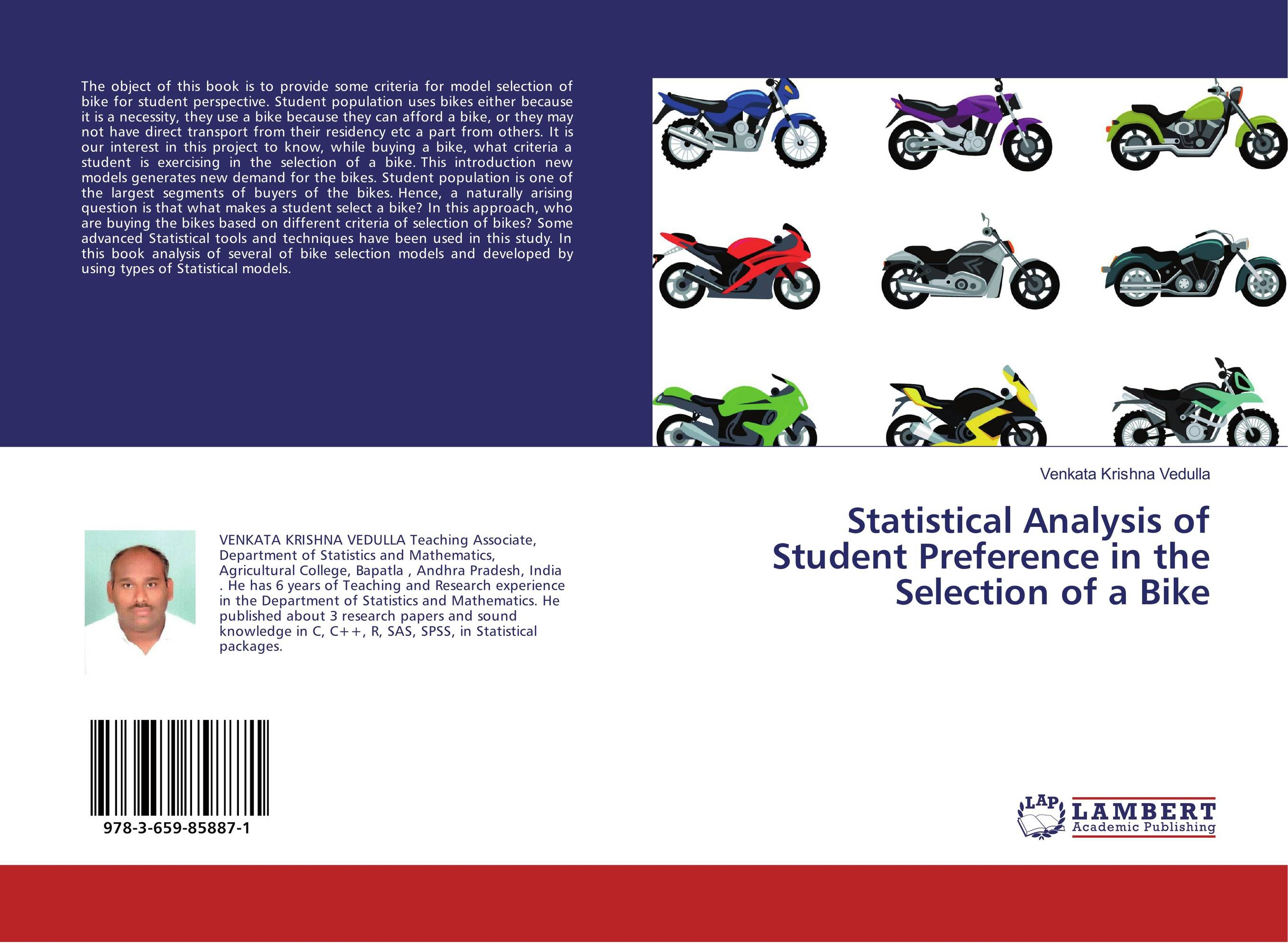 Statistical Analysis of Student Preference in the Selection of a Bike anatoly peresetsky do secrets come out statistical evaluation of student cheating